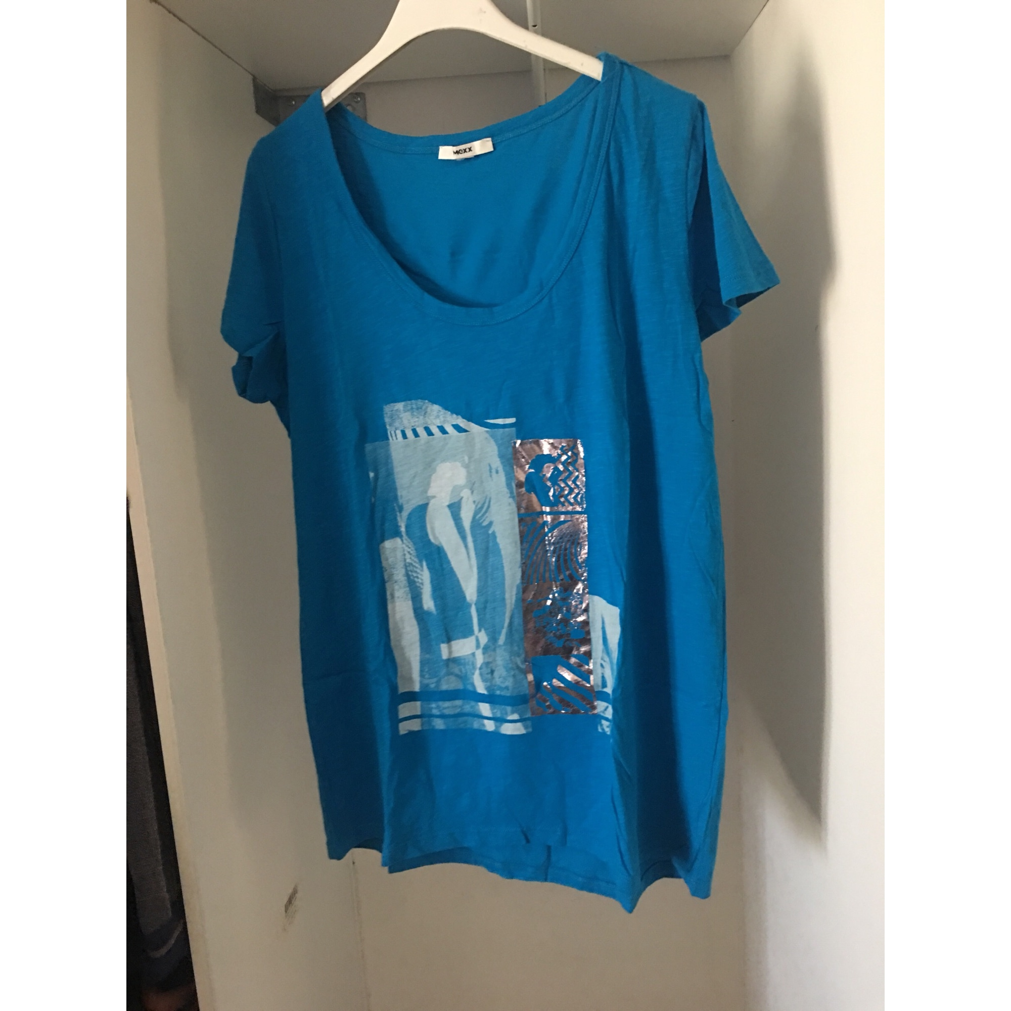 Top, tee-shirt MEXX Bleu, bleu marine, bleu turquoise
