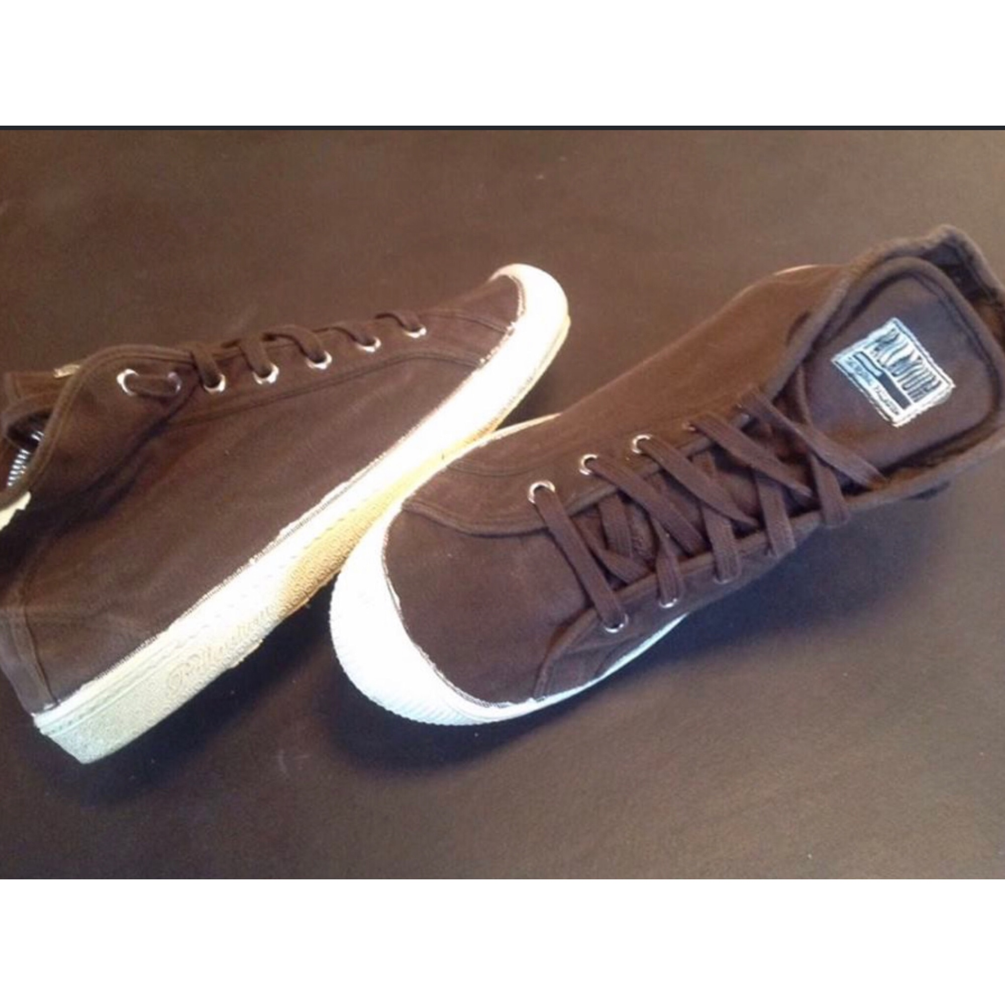 Chaussures à lacets  PALLADIUM Marron