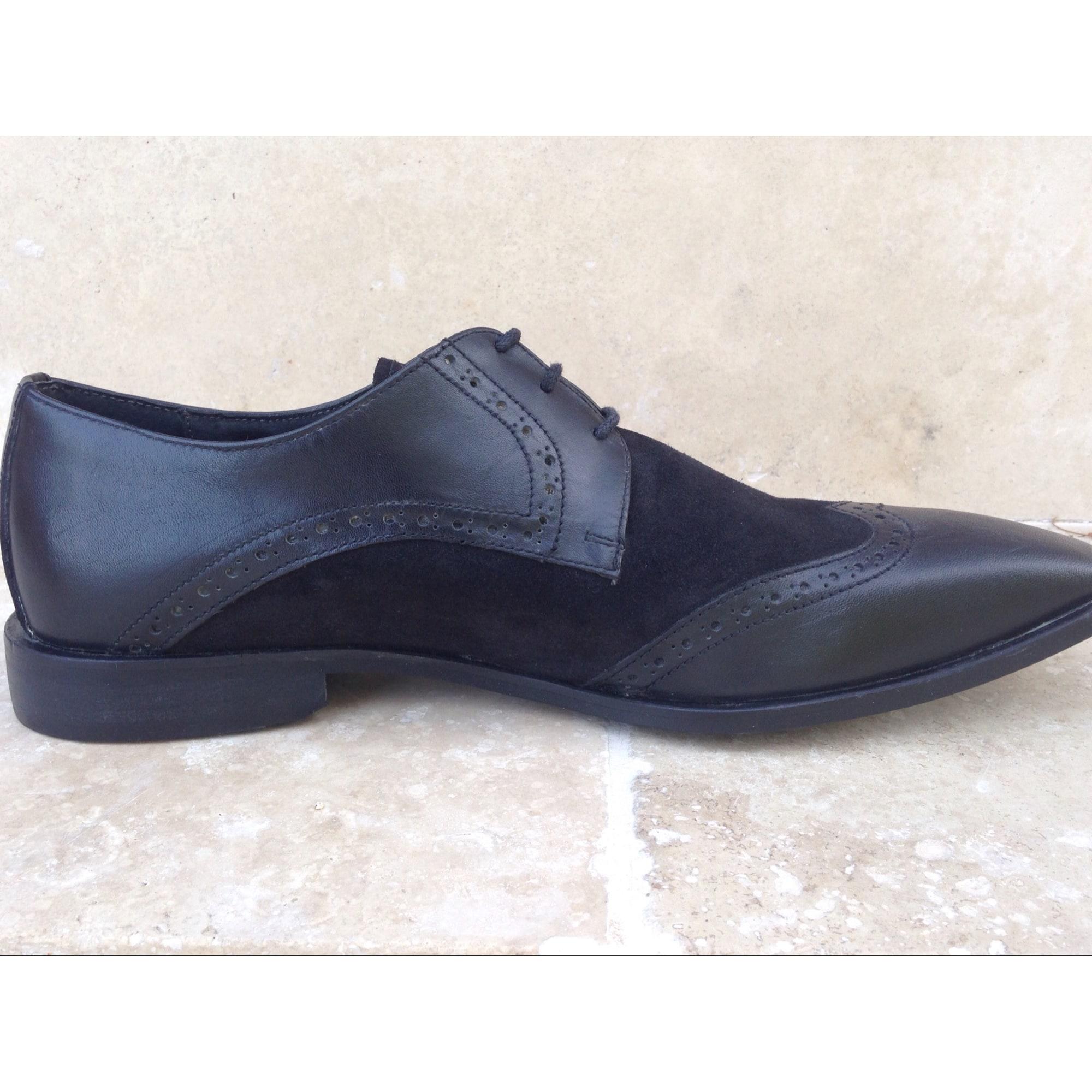Chaussures à lacets ROCHAS Noir