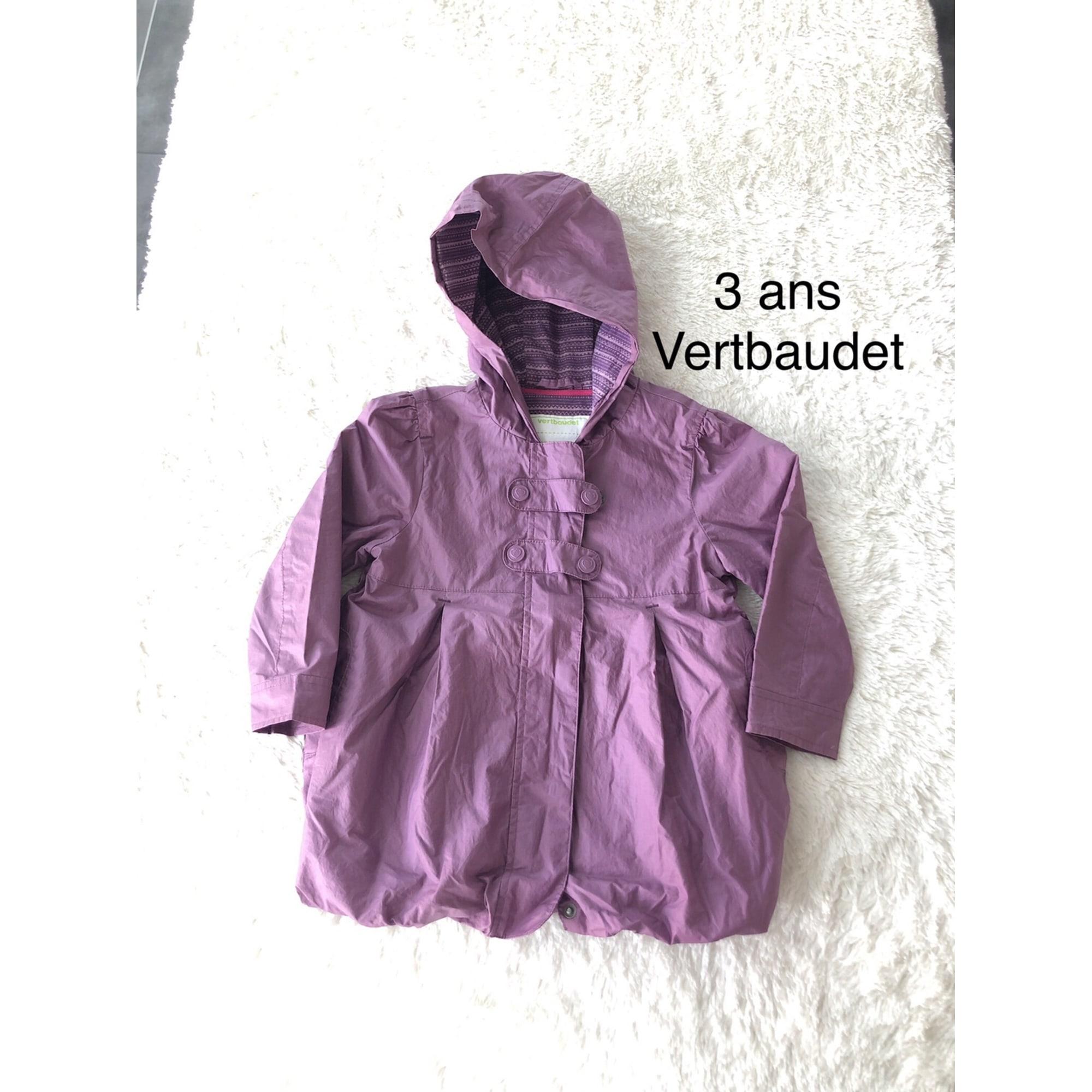 Imperméable VERTBAUDET Violet, mauve, lavande