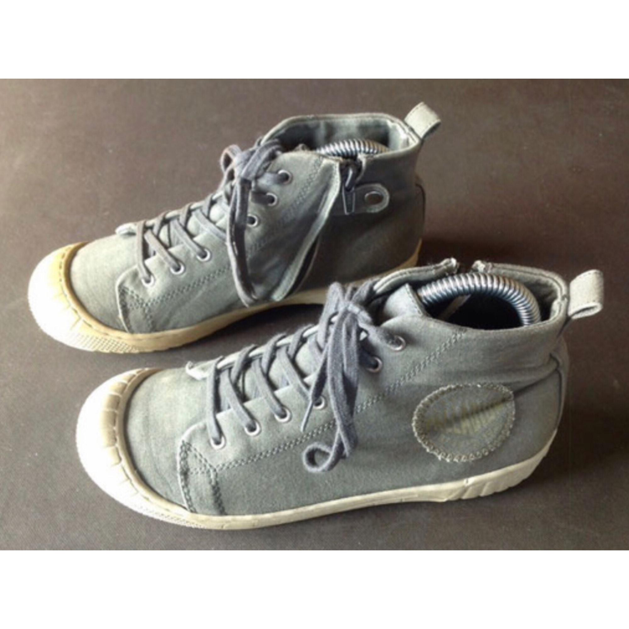 Chaussures à lacets PALLADIUM Gris