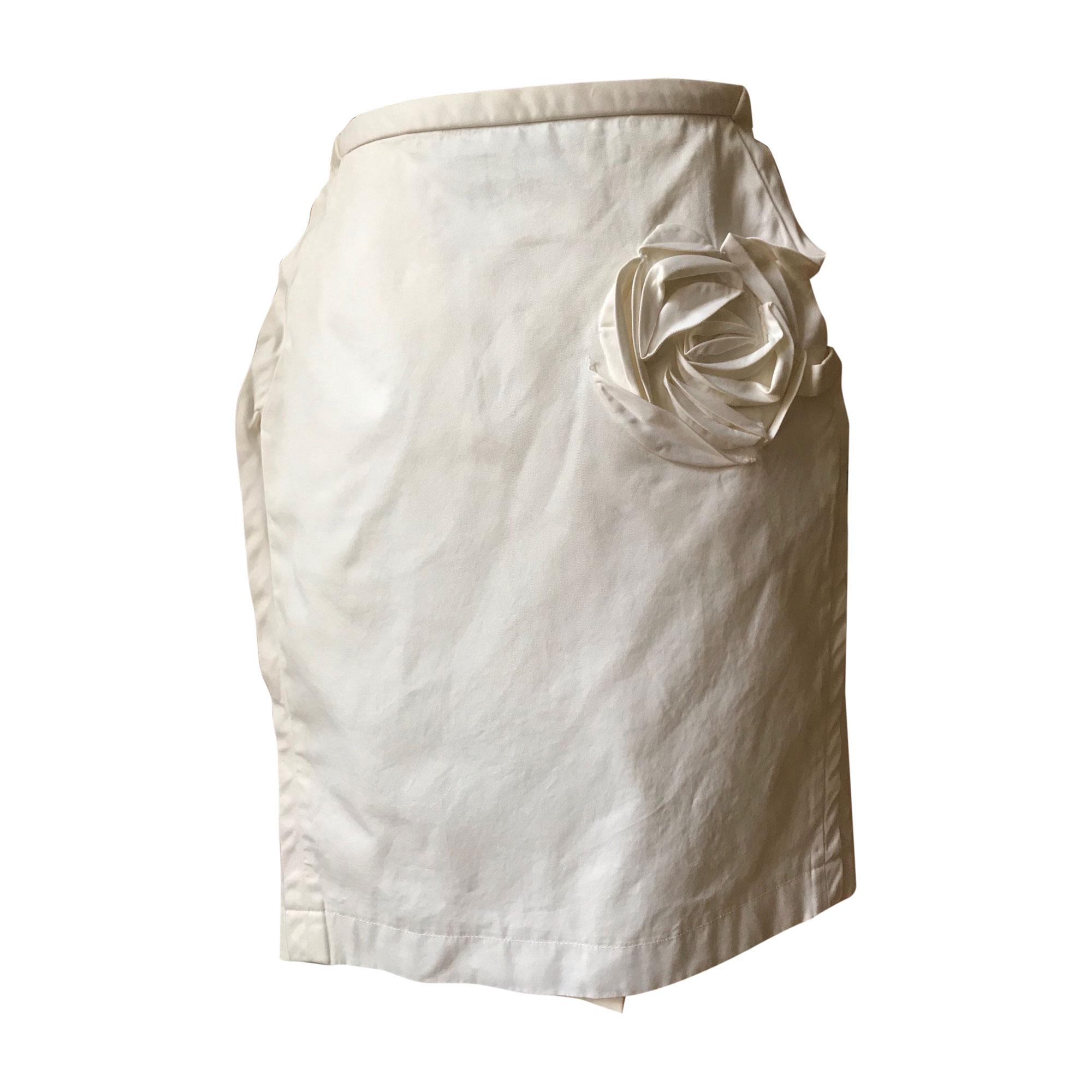 Jupe courte PAUL SMITH Blanc, blanc cassé, écru