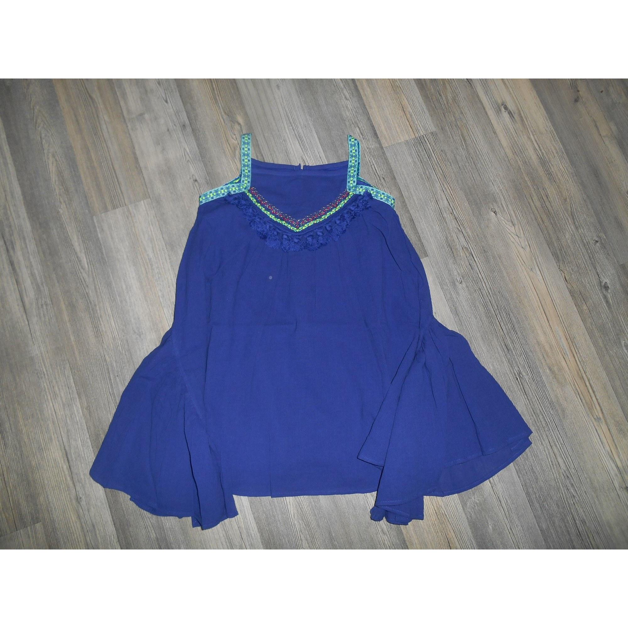Robe CATIMINI Bleu, bleu marine, bleu turquoise