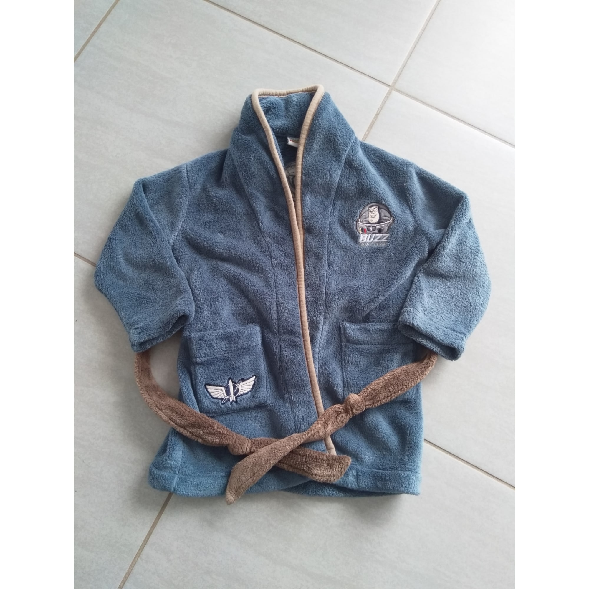 Robe de chambre DISNEY Bleu, bleu marine, bleu turquoise