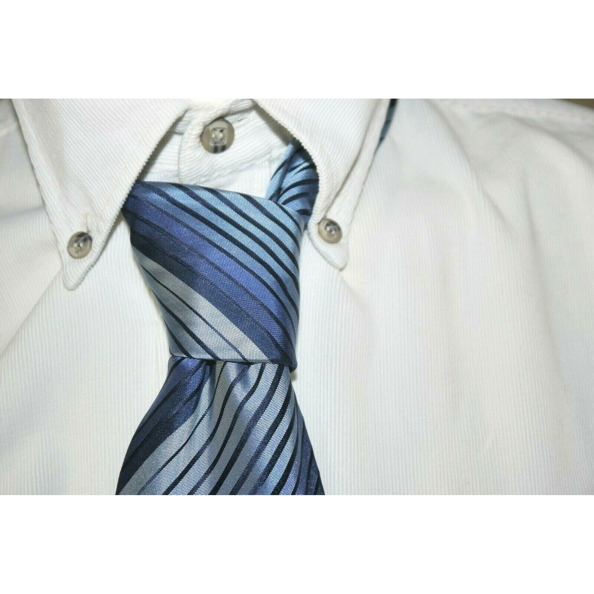 Cravate JEAN LOUIS SCHERRER Bleu, bleu marine, bleu turquoise