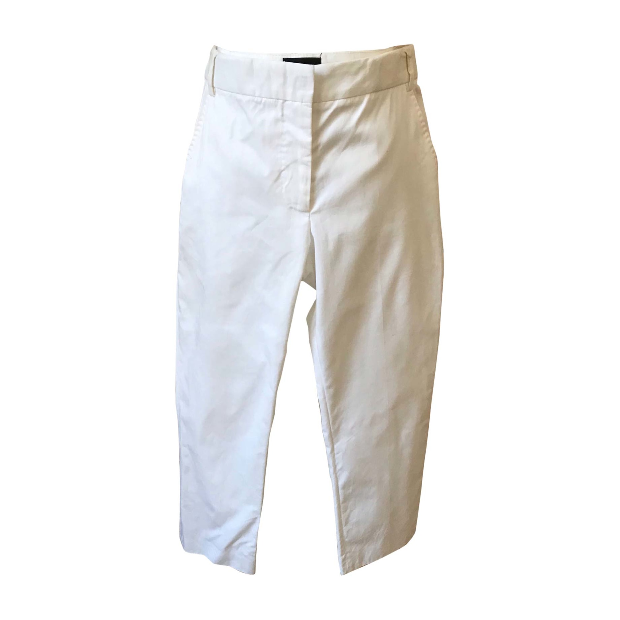 Pantalon droit PAUL SMITH Blanc, blanc cassé, écru