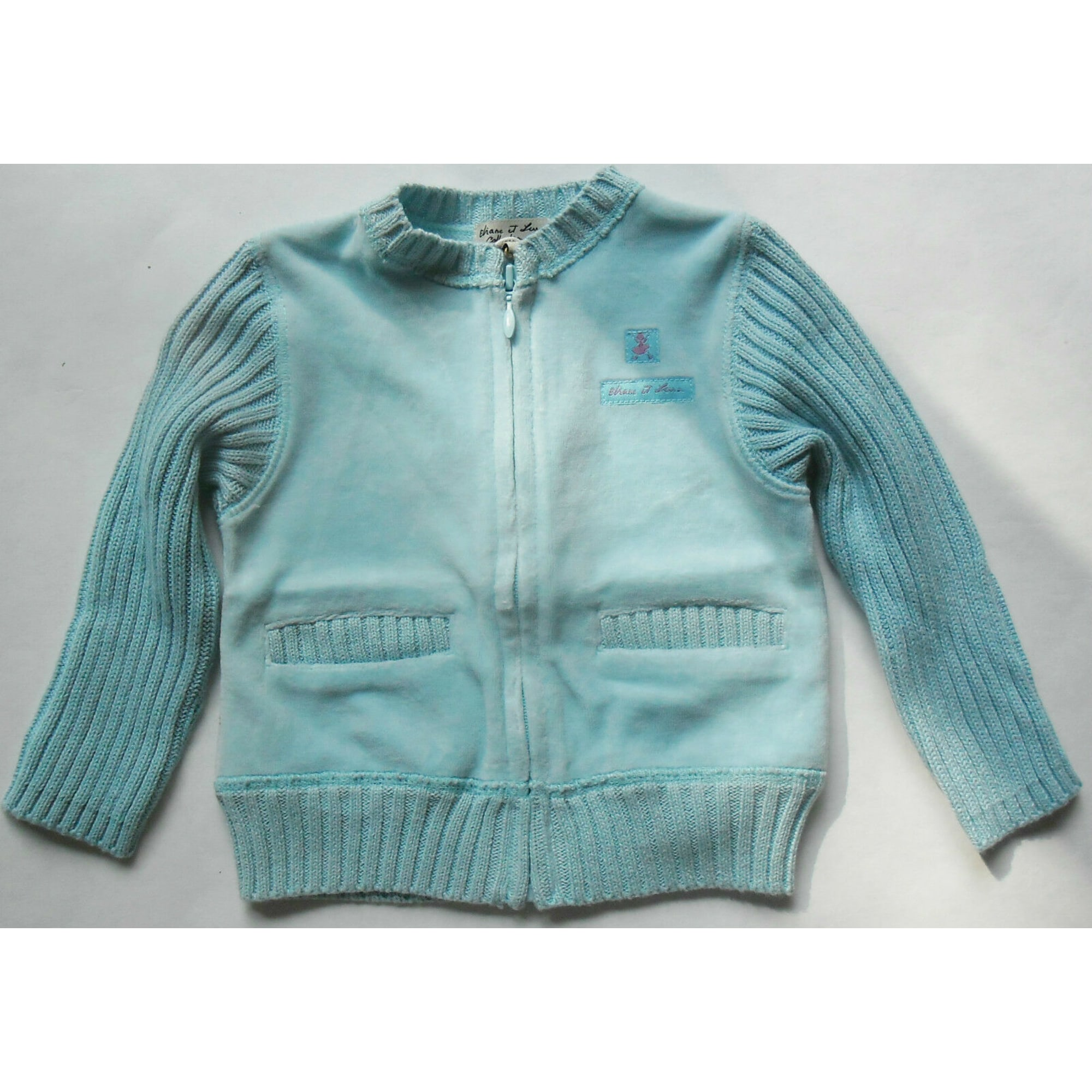 Gilet, cardigan ELIANE ET LENA Bleu, bleu marine, bleu turquoise