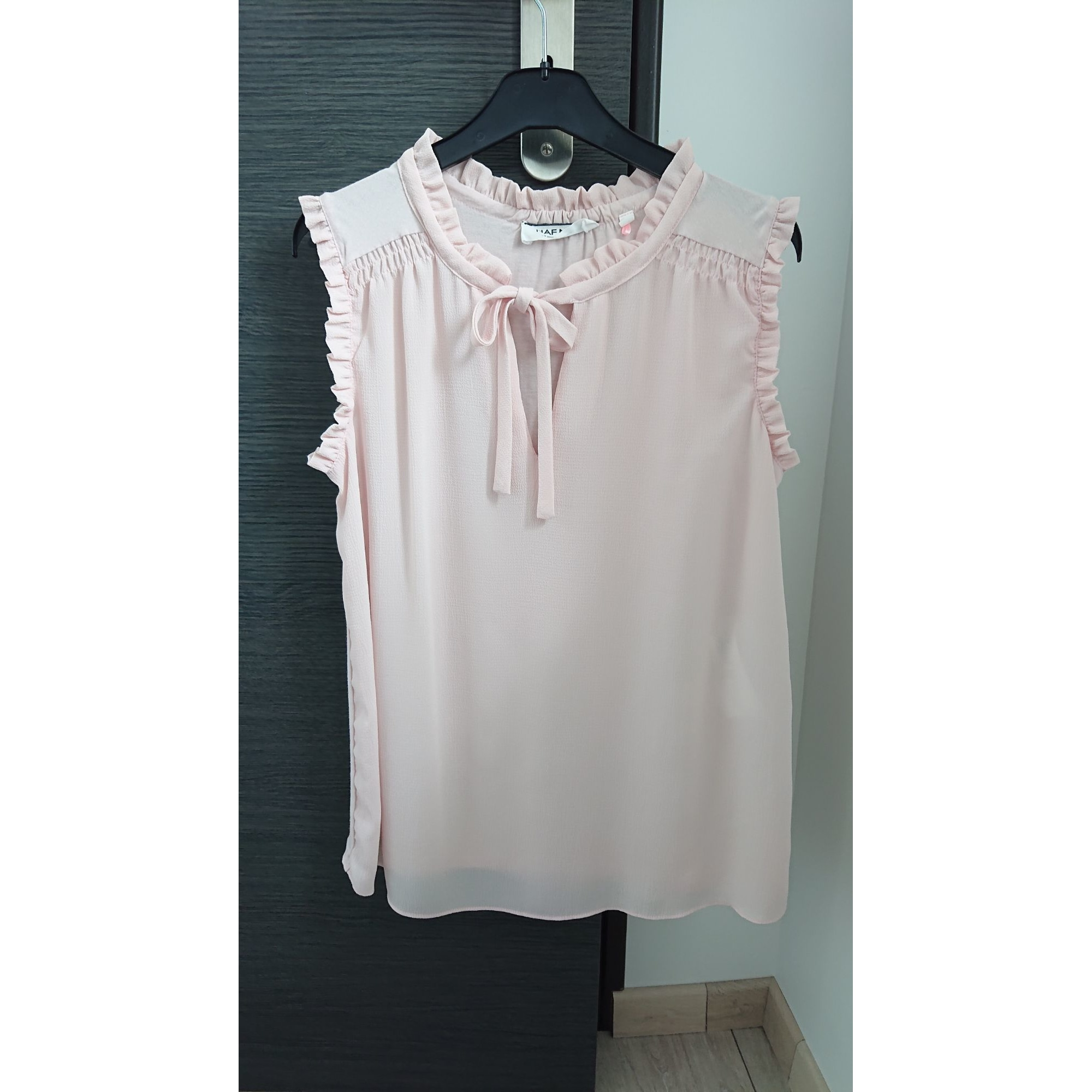 Top, tee-shirt NAF NAF Rose, fuschia, vieux rose