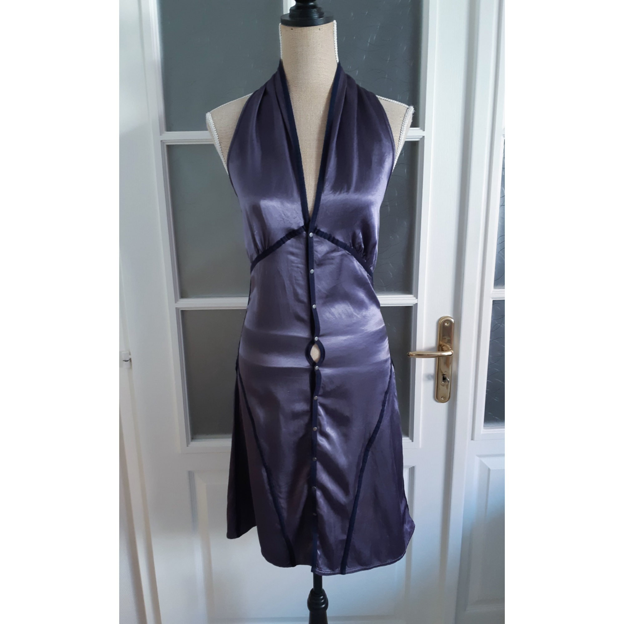 Robe dos nu DIESEL Violet, mauve, lavande