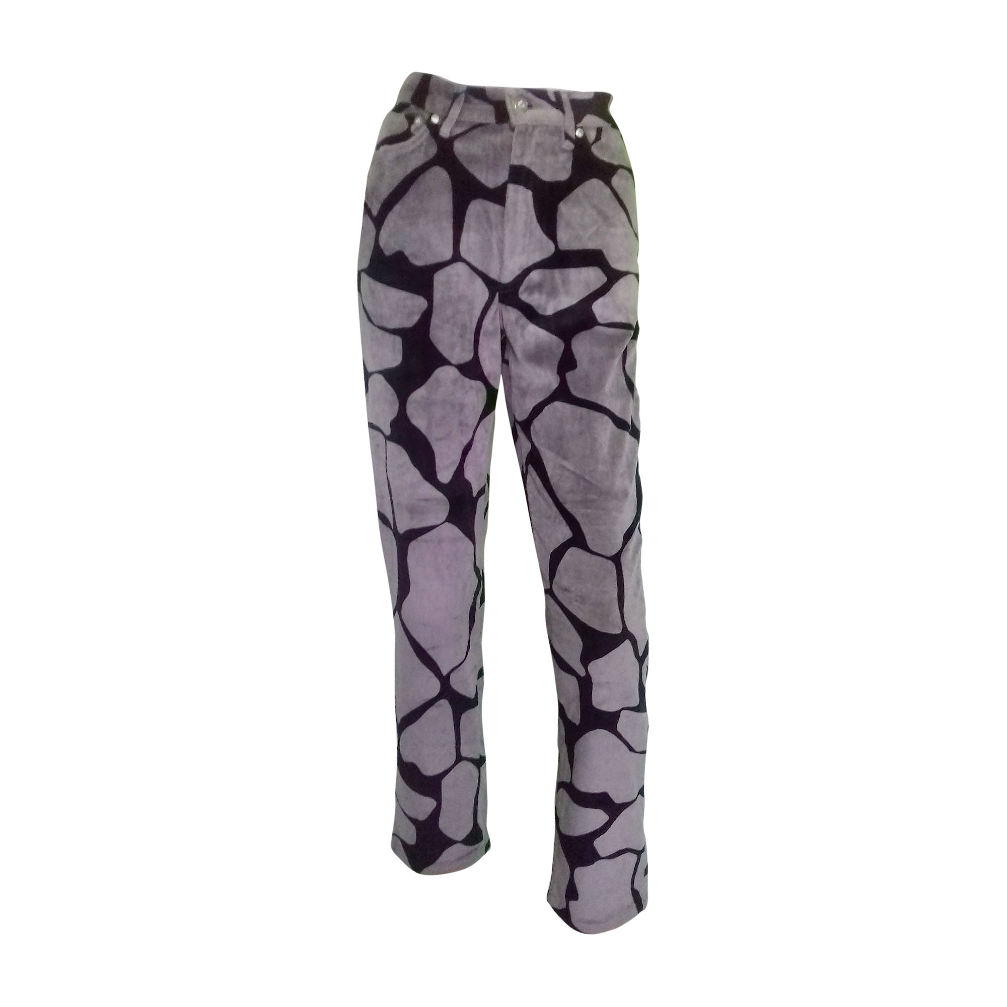 Pantalon droit KENZO Multicouleur