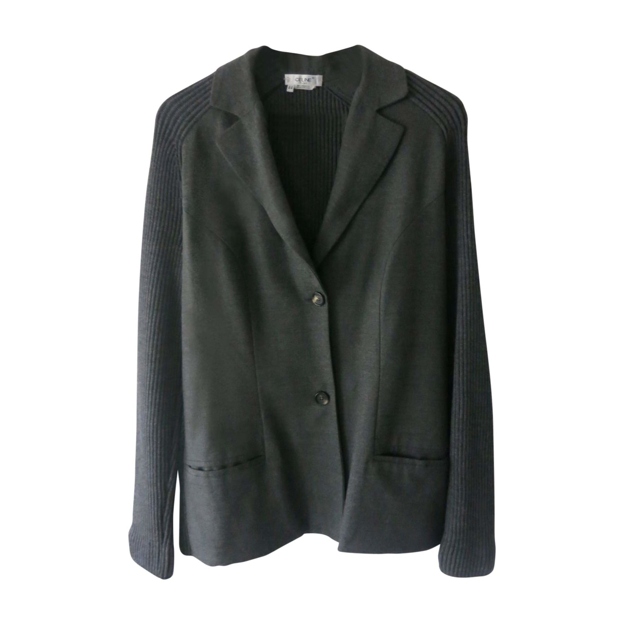 Blazer, veste tailleur CÉLINE Gris, anthracite