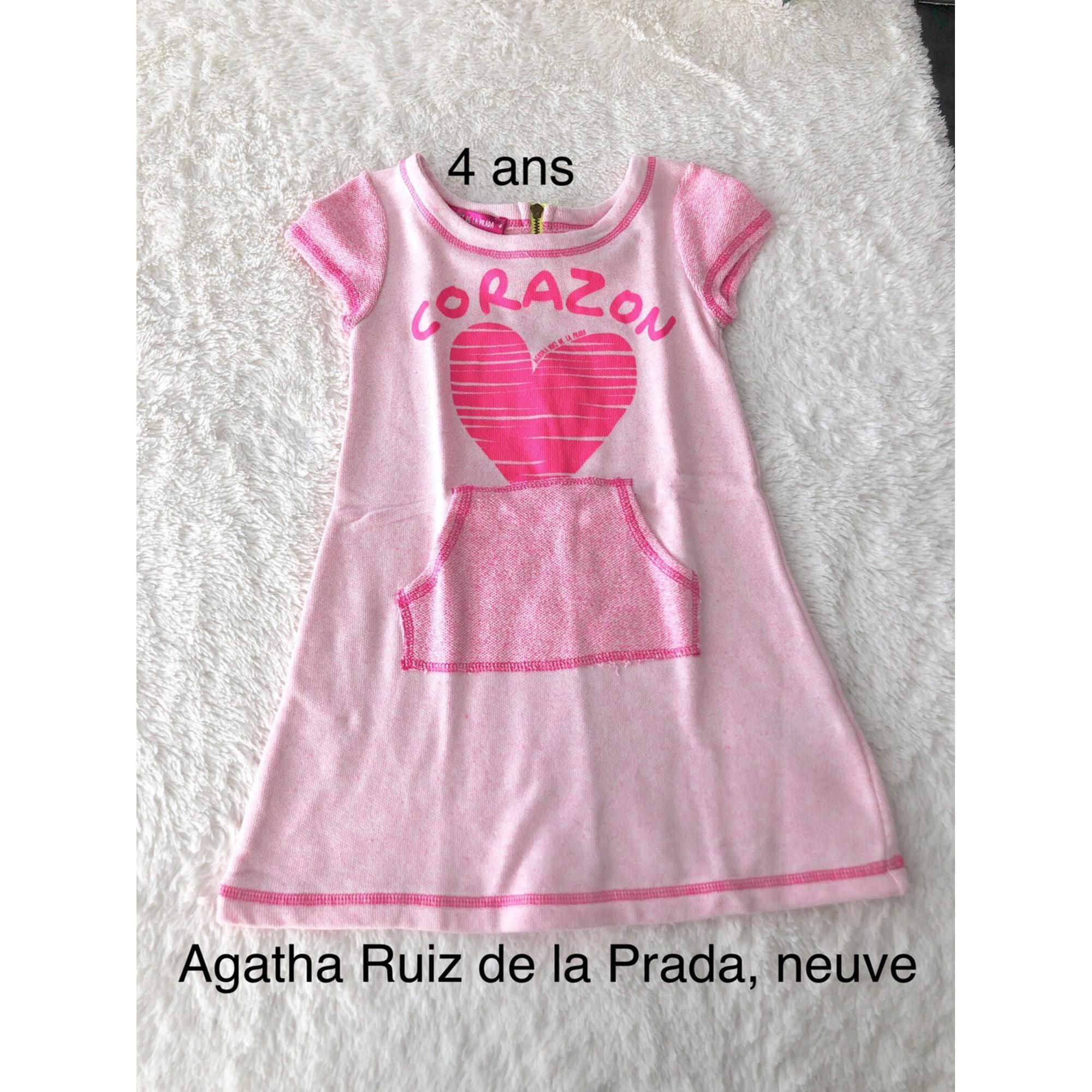 Robe AGATHA RUIZ DE LA PRADA Rose, fuschia, vieux rose