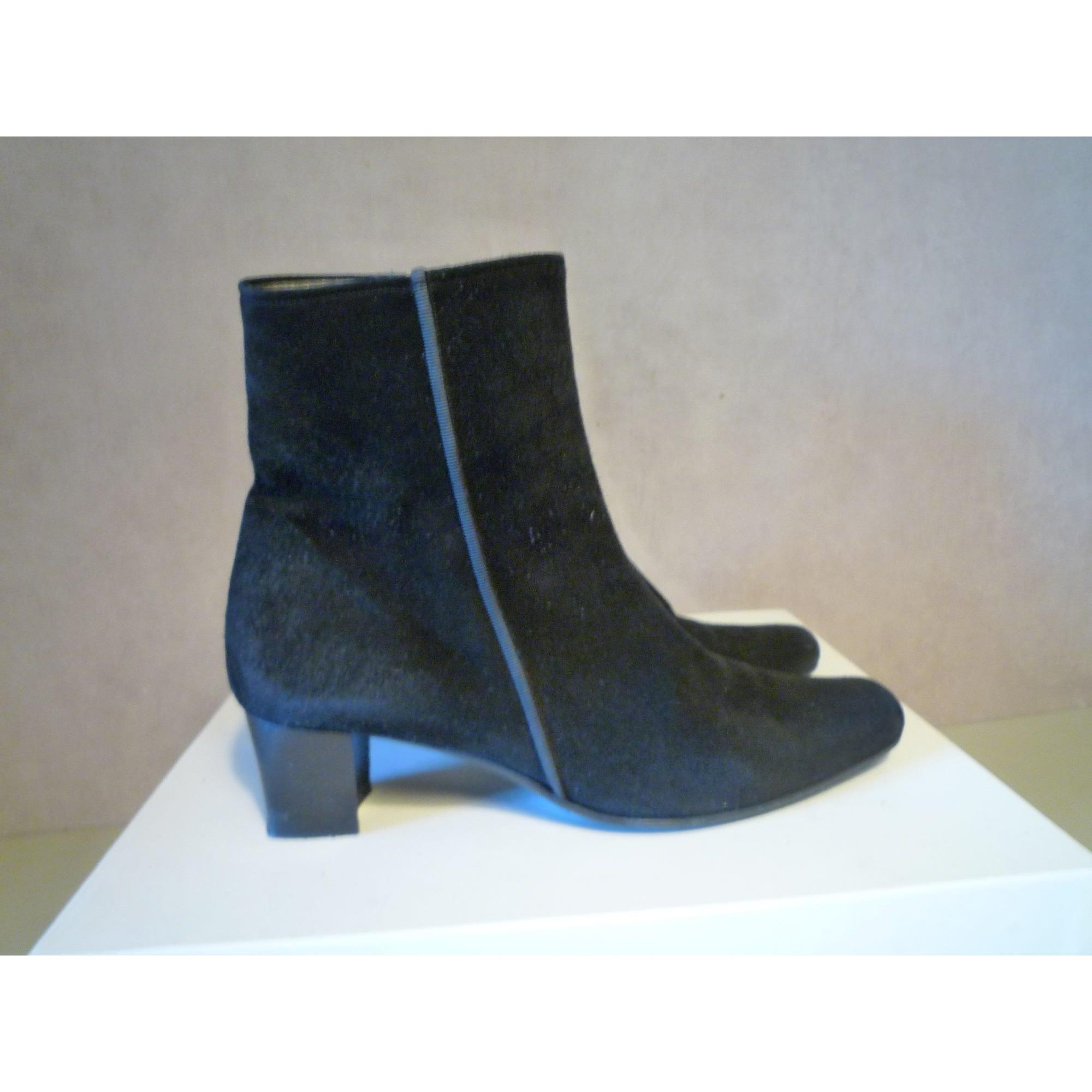Bottines & low boots à talons CORDOAN Noir