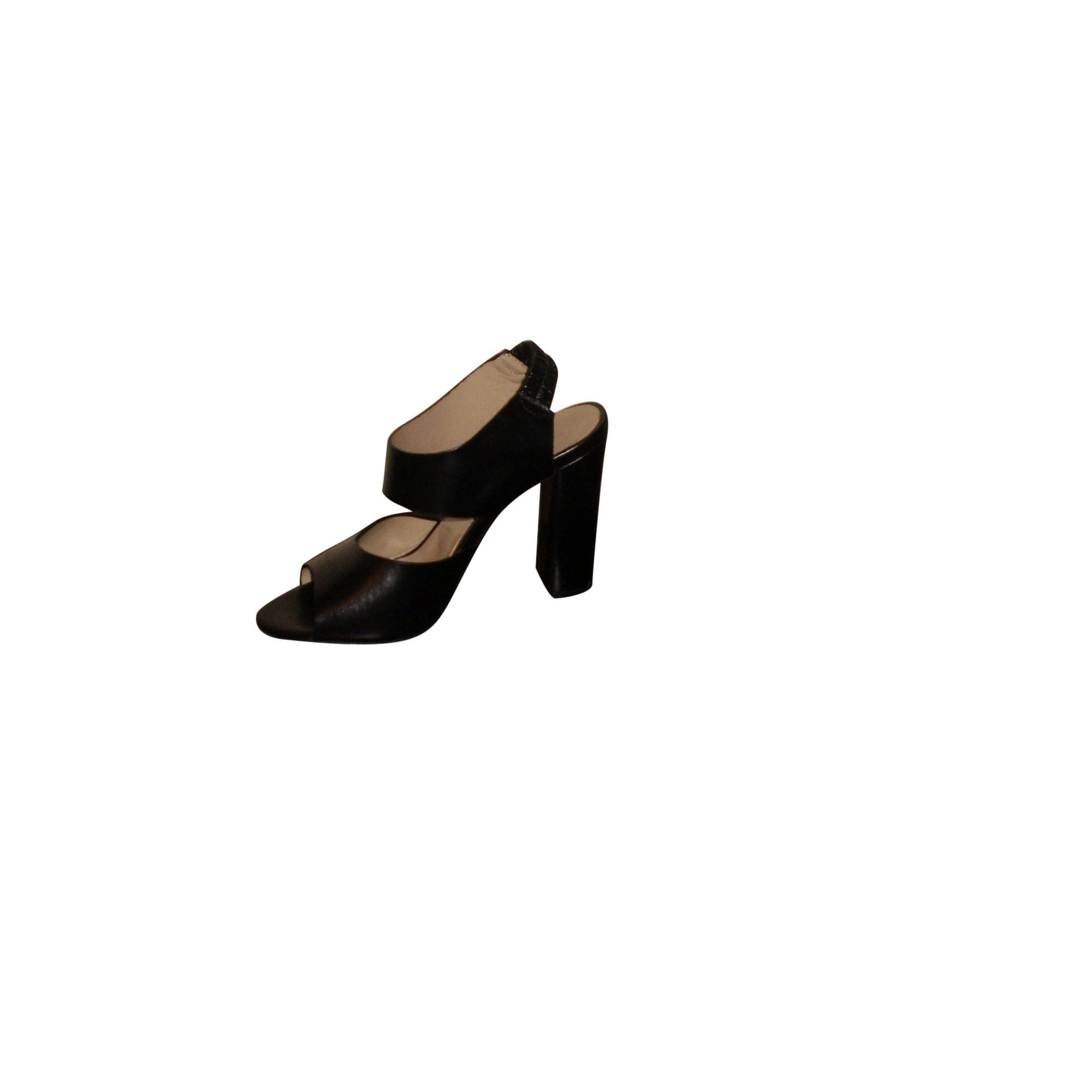 Sandales à talons NICOLE FAHRI Noir
