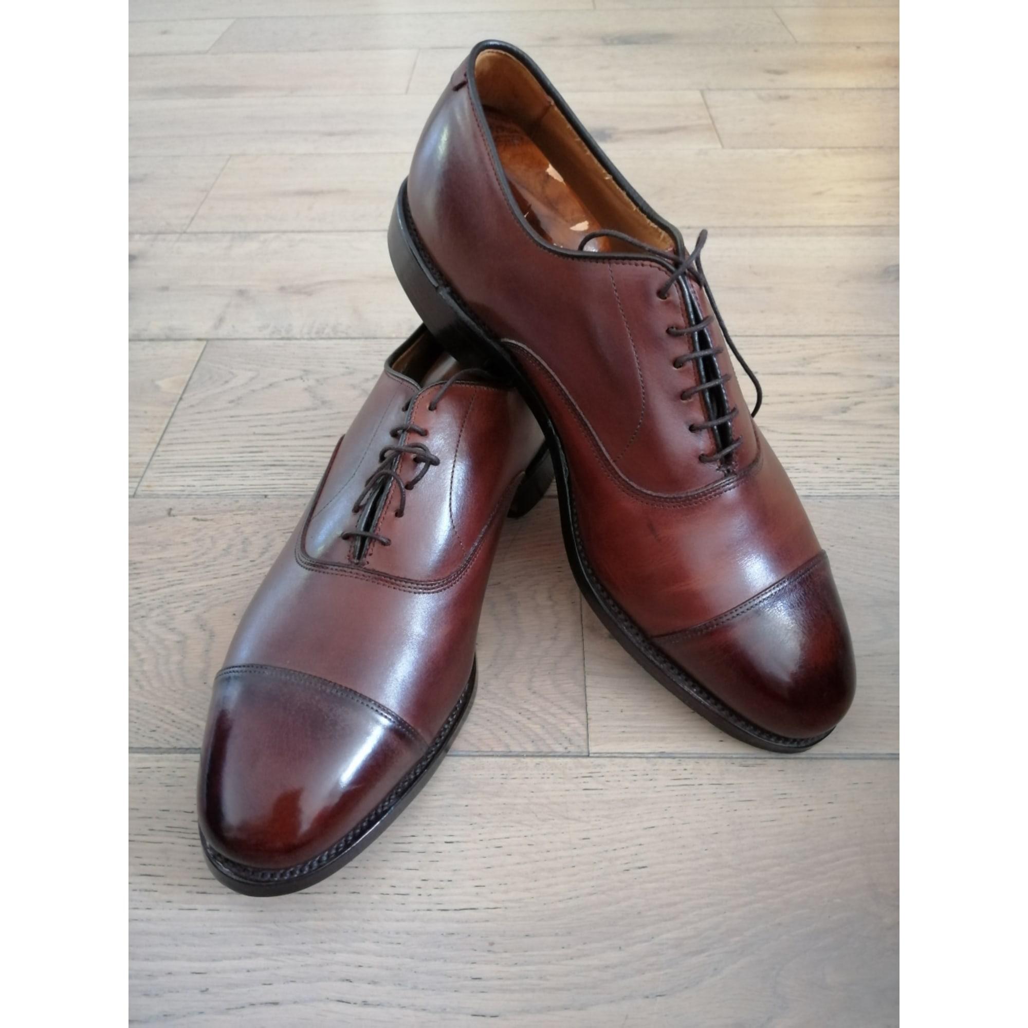 Chaussures à lacets ALLEN EDMONDS chili