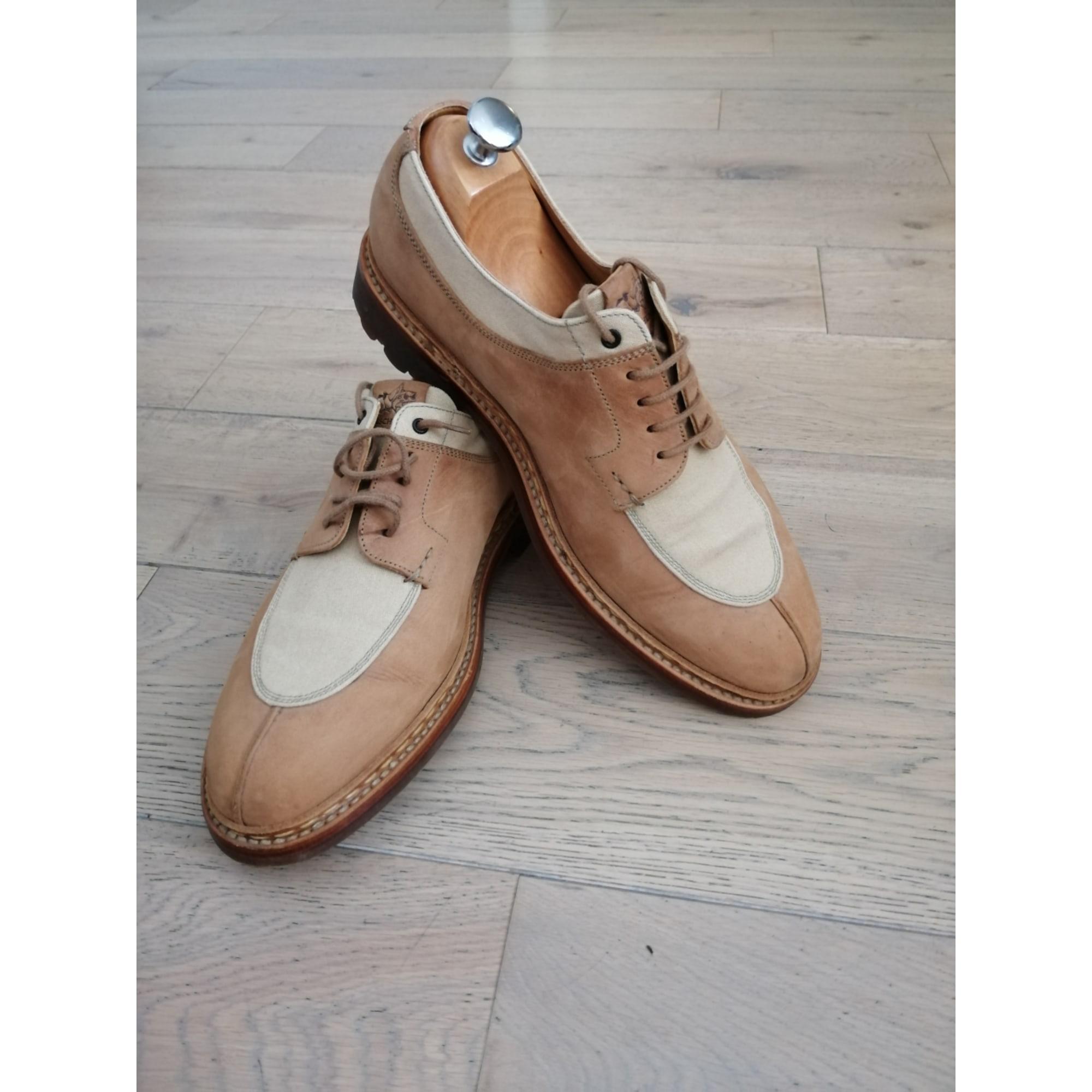 Chaussures à lacets HESCHUNG Beige, camel