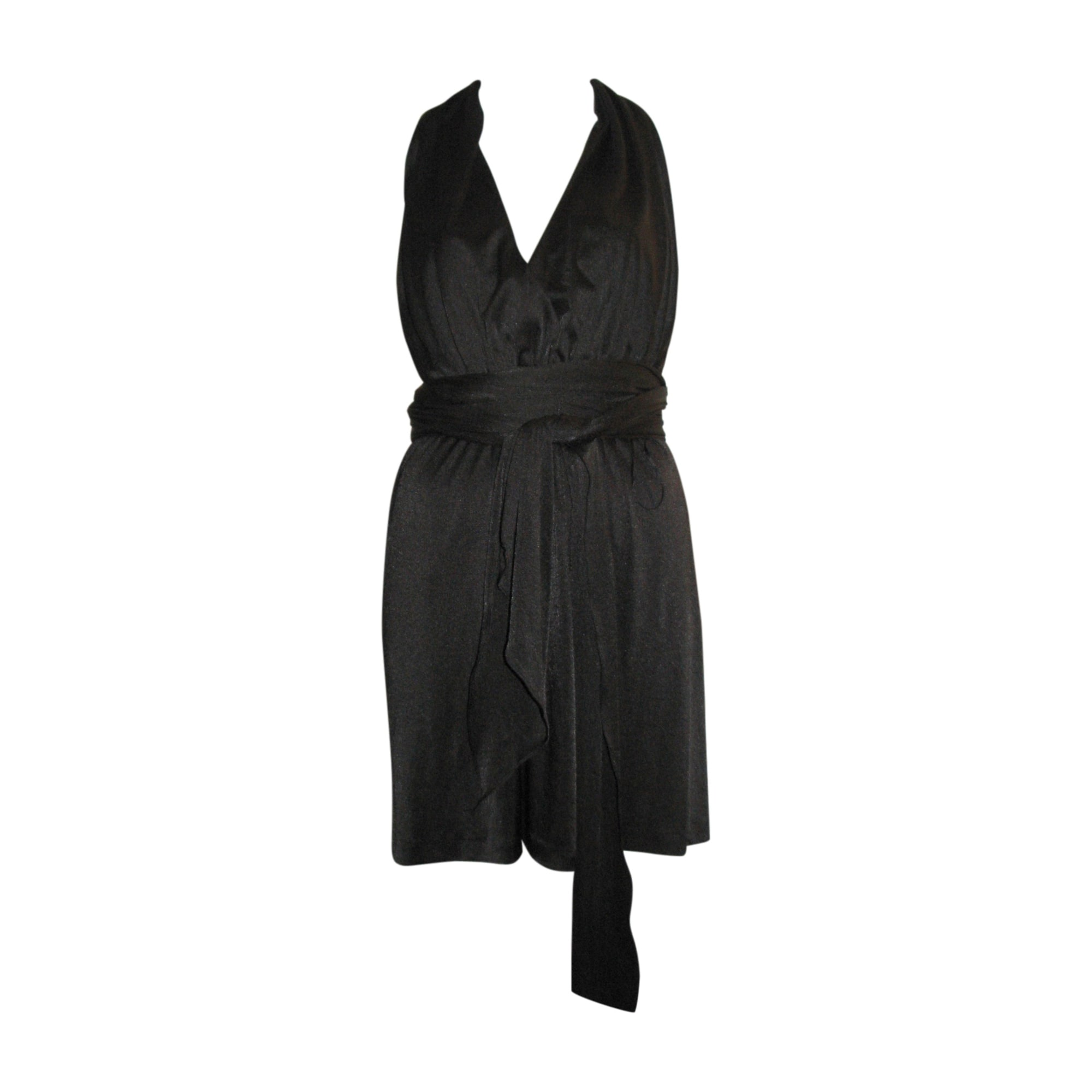 Robe courte HALSTON HERITAGE Noir