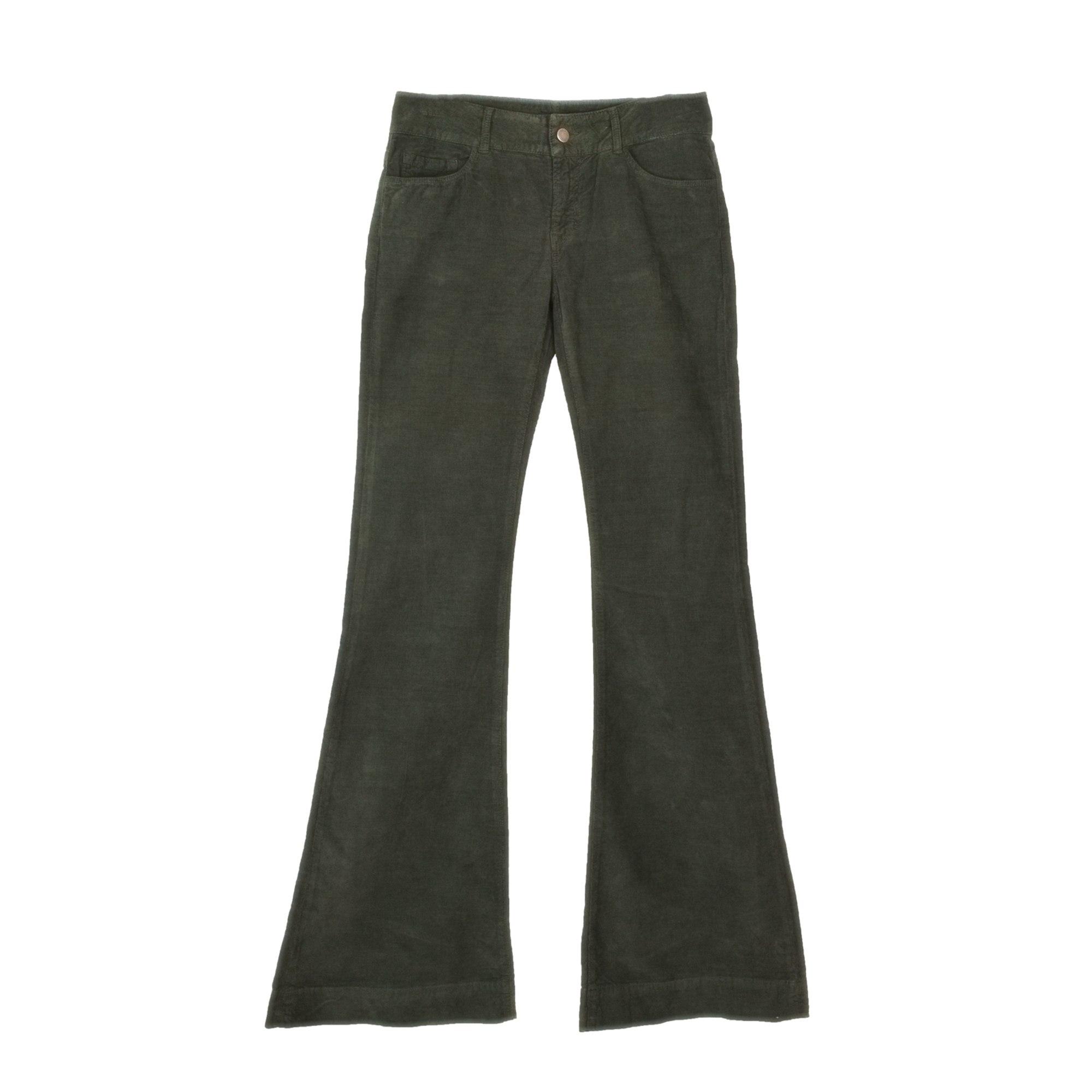 Pantalon évasé JOSEPH Vert