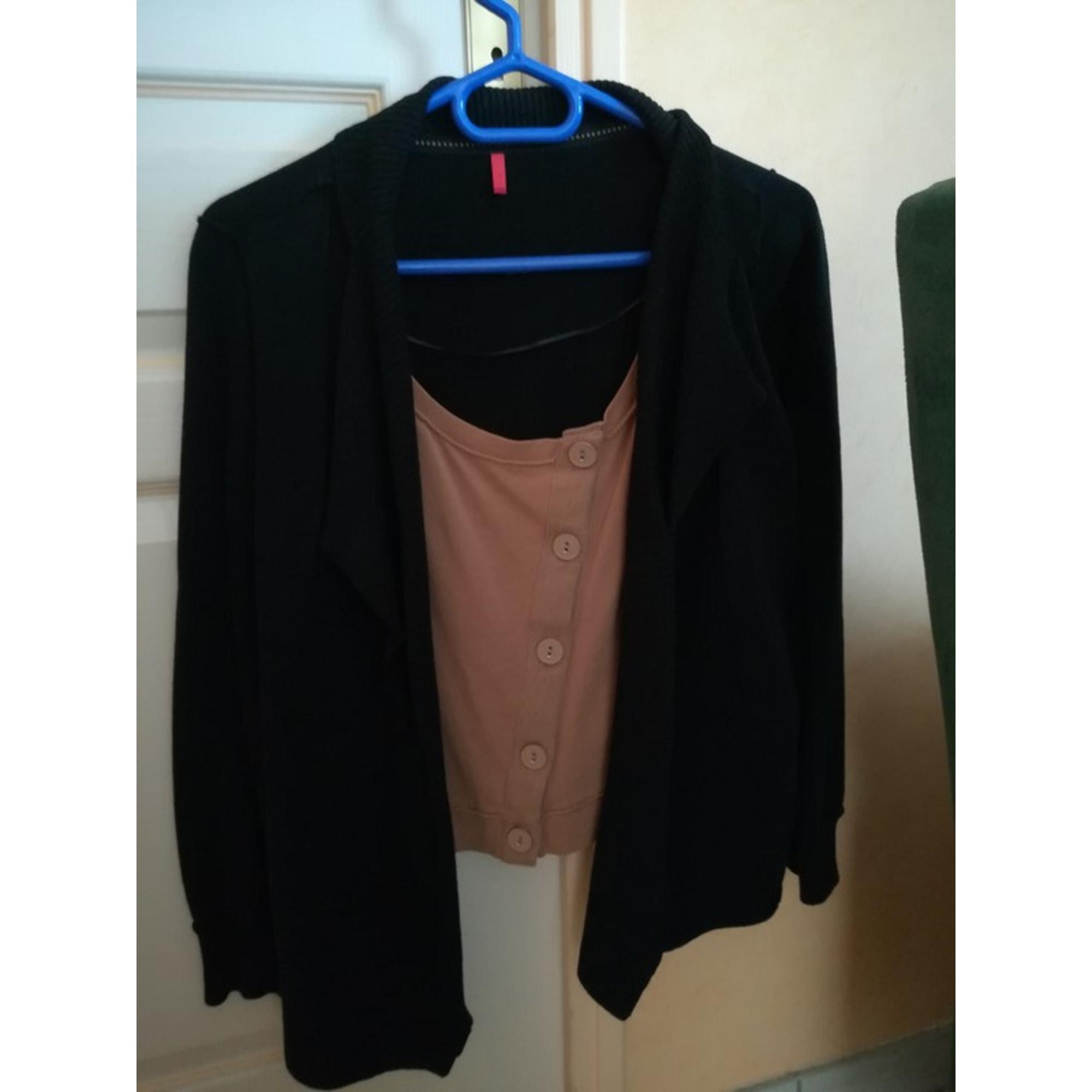 Gilet, cardigan MISS CAPTAIN Noir