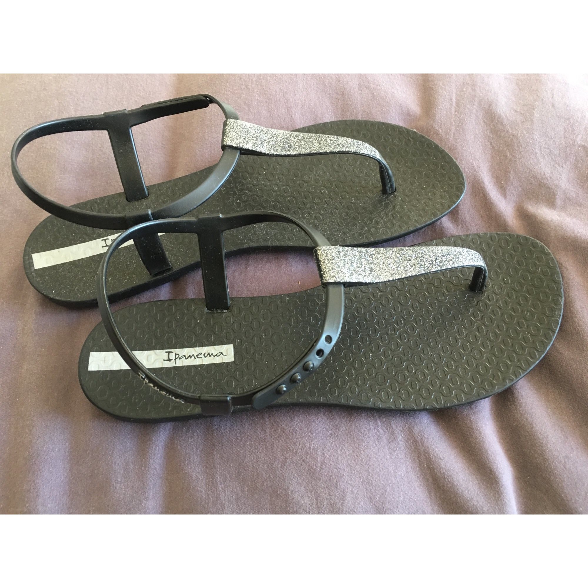 Sandales plates  IPANEMA Noir