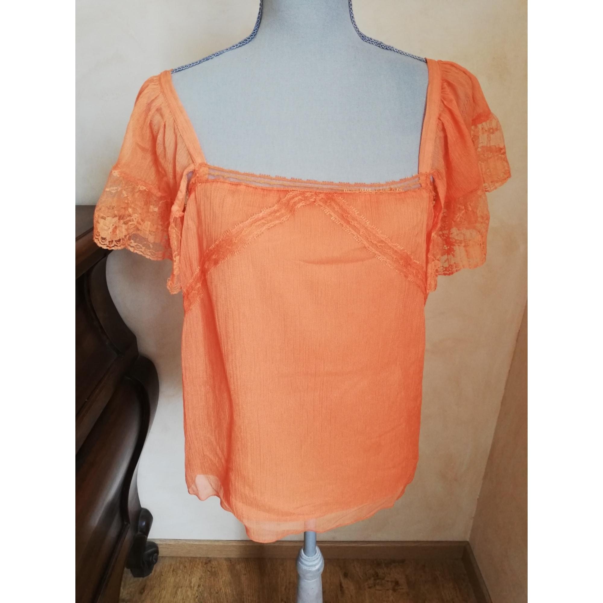 Top, tee-shirt ONE STEP Orange