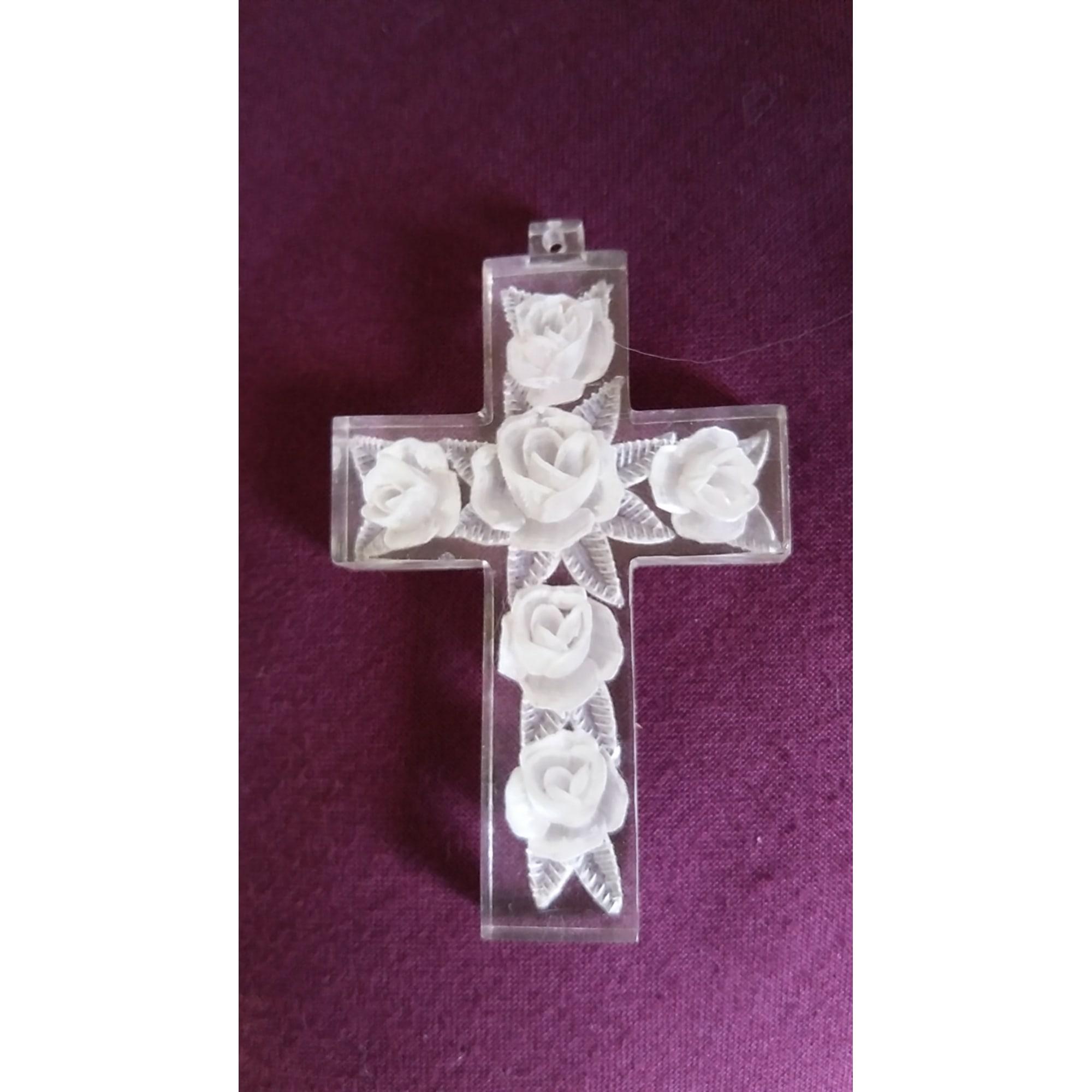 Pendentif, collier pendentif VINTAGE Blanc, blanc cassé, écru