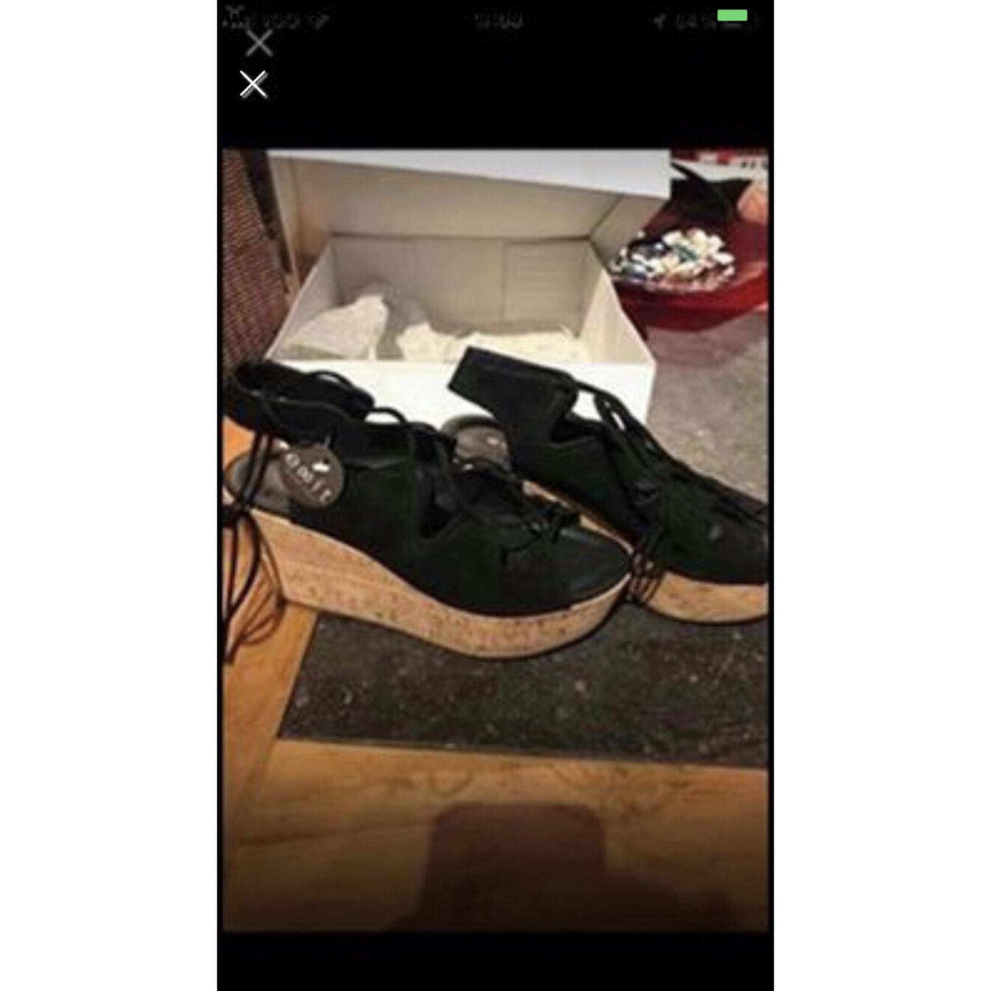 Sandales à talons EXIT Noir