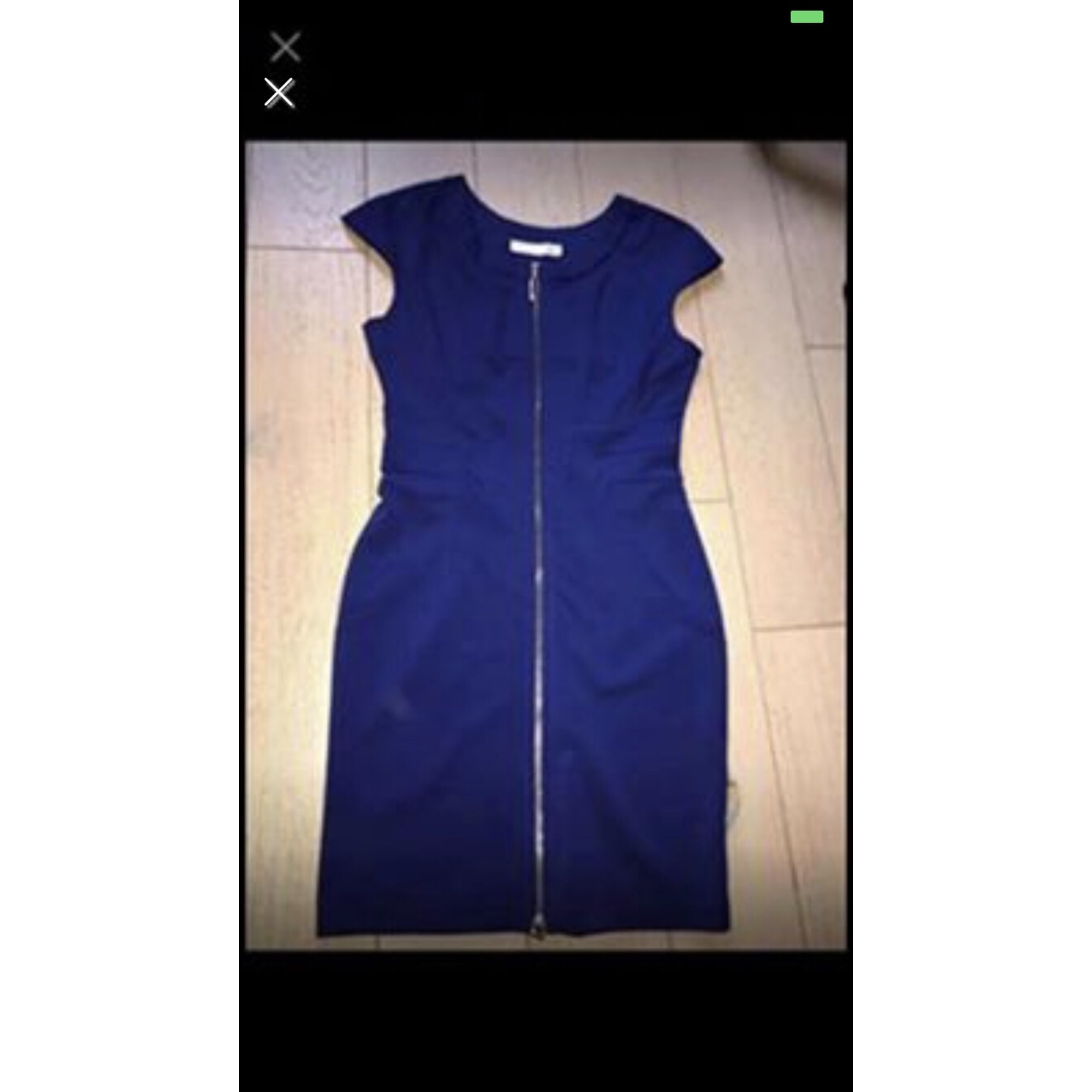 Robe courte MARQUE INCONNUE Bleu, bleu marine, bleu turquoise