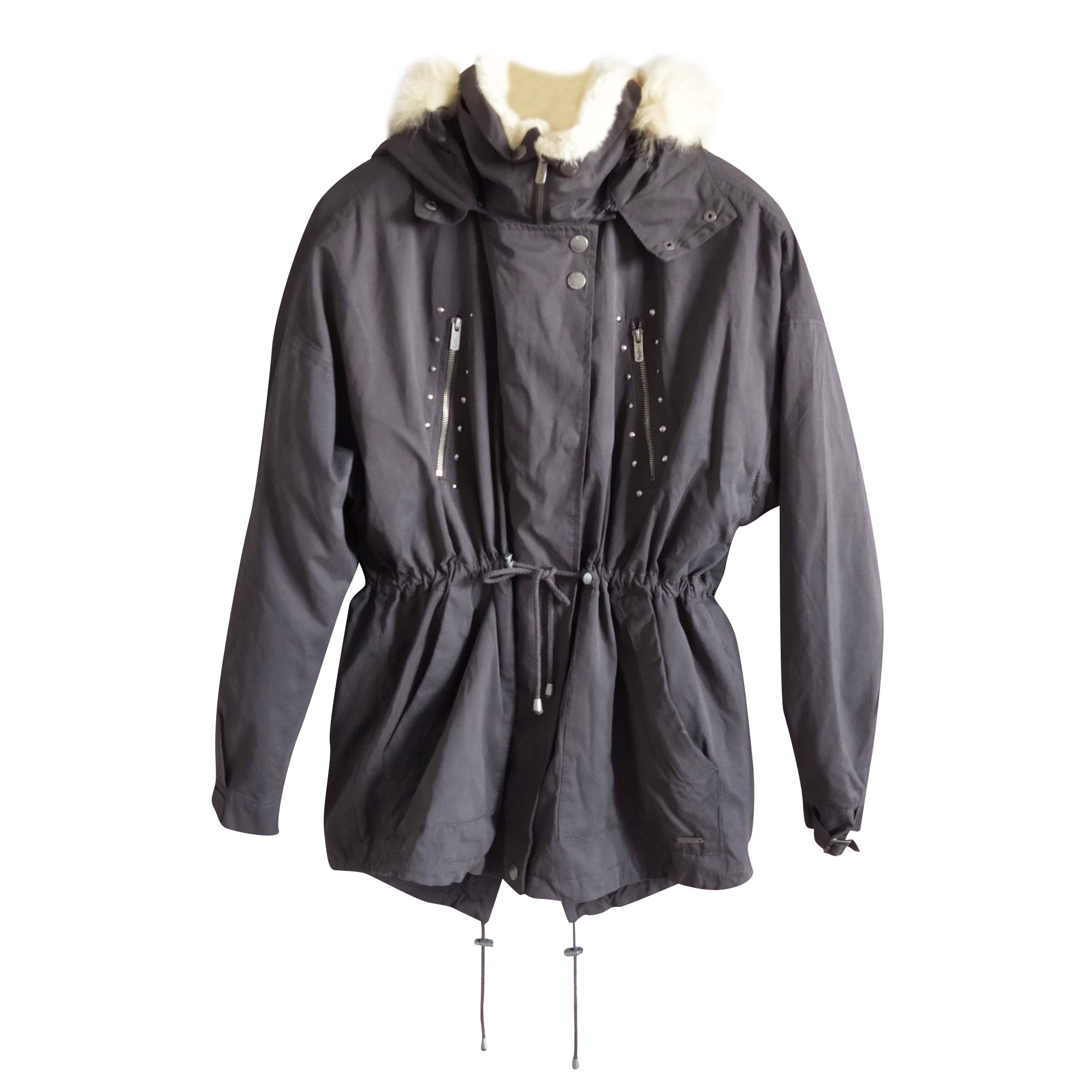 Parka PEPE JEANS Gris, anthracite