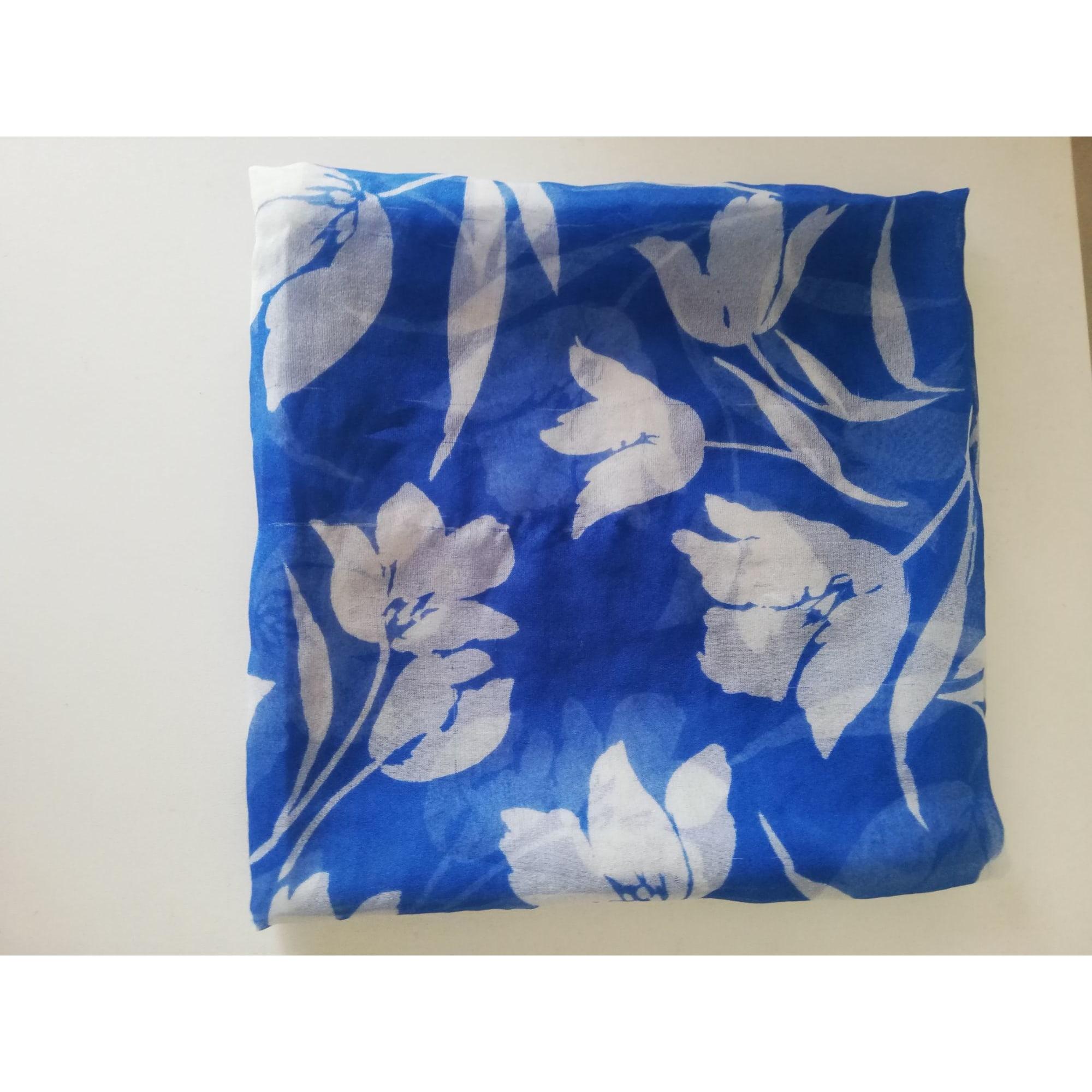Foulard MARQUE INCONNUE Bleu, bleu marine, bleu turquoise
