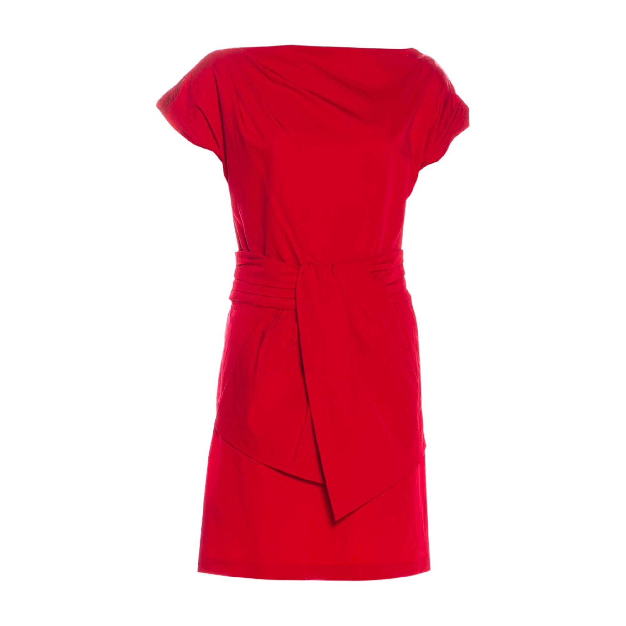 Robe courte DIANE VON FURSTENBERG Rouge, bordeaux