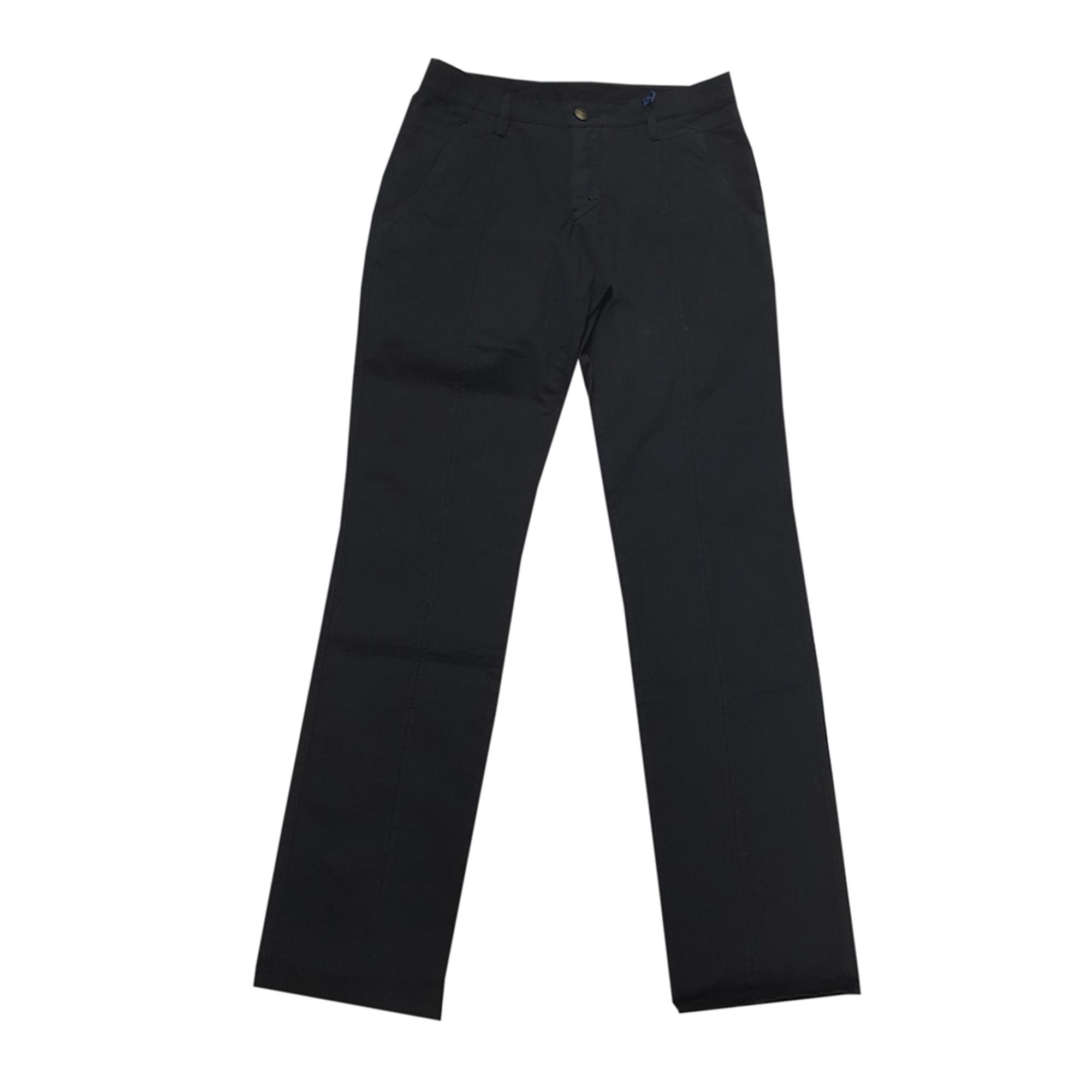 Pantalon droit TRUSSARDI JEANS Bleu, bleu marine, bleu turquoise