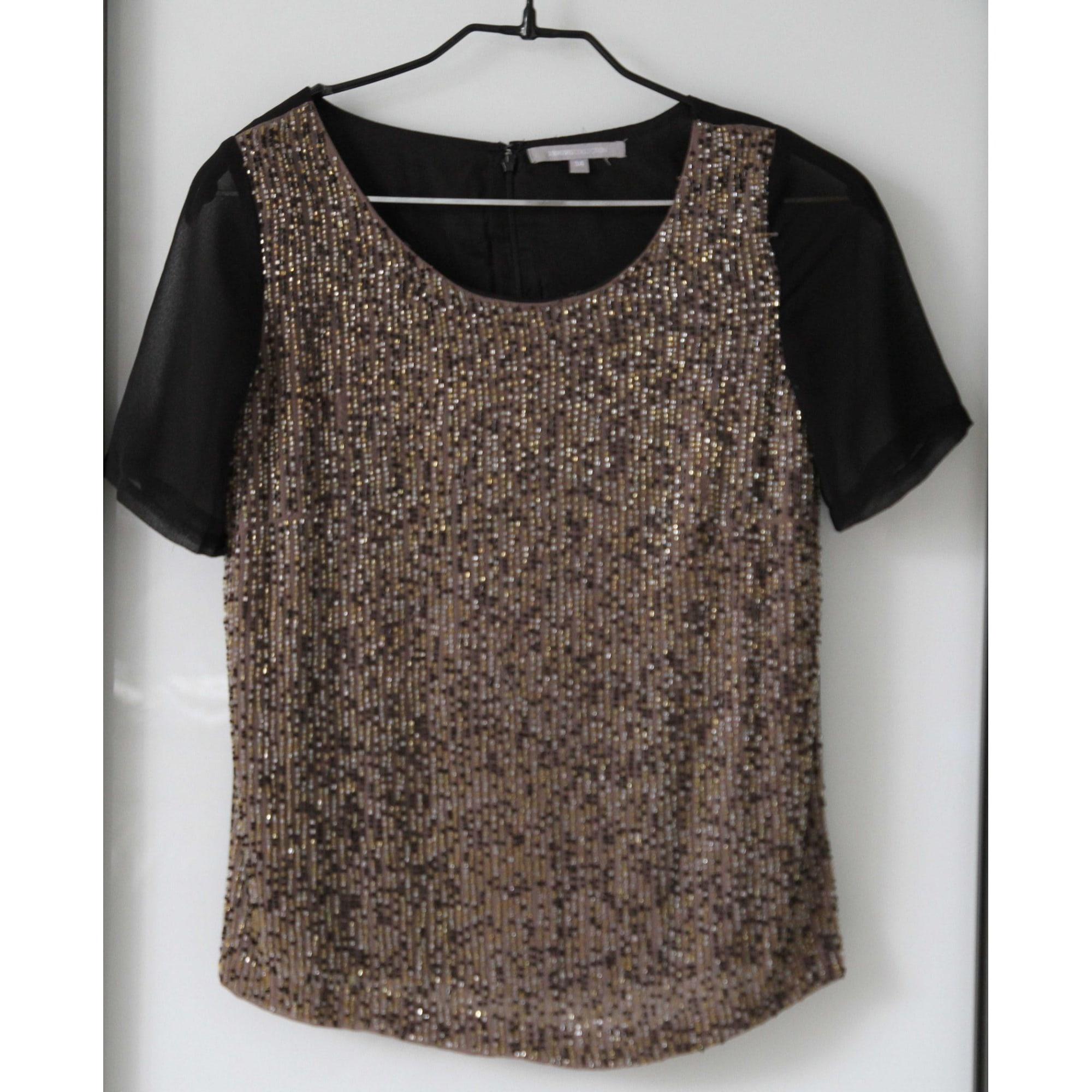 Top, tee-shirt 3 SUISSES Beige, camel