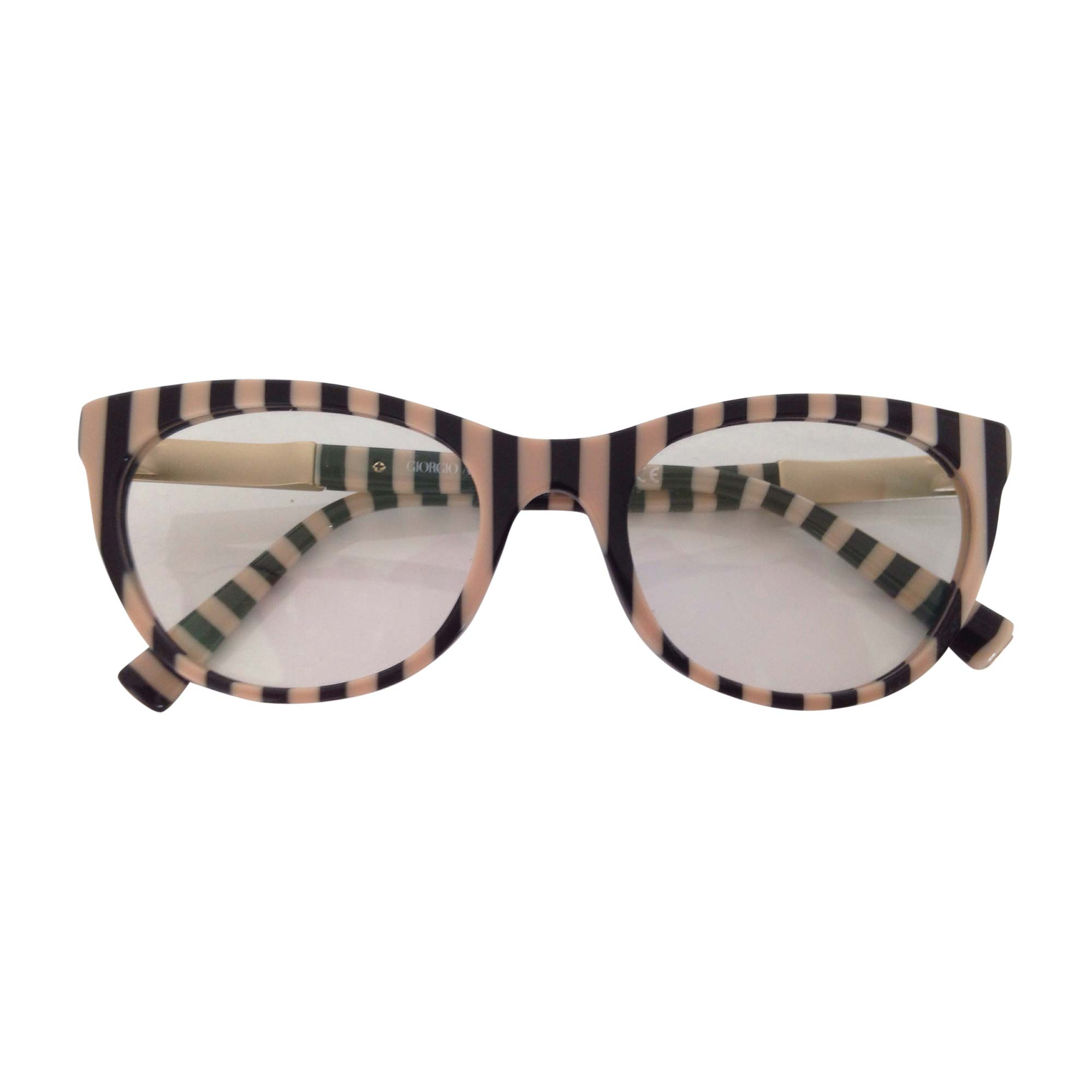 Eyeglass Frames GIORGIO ARMANI Beige, camel