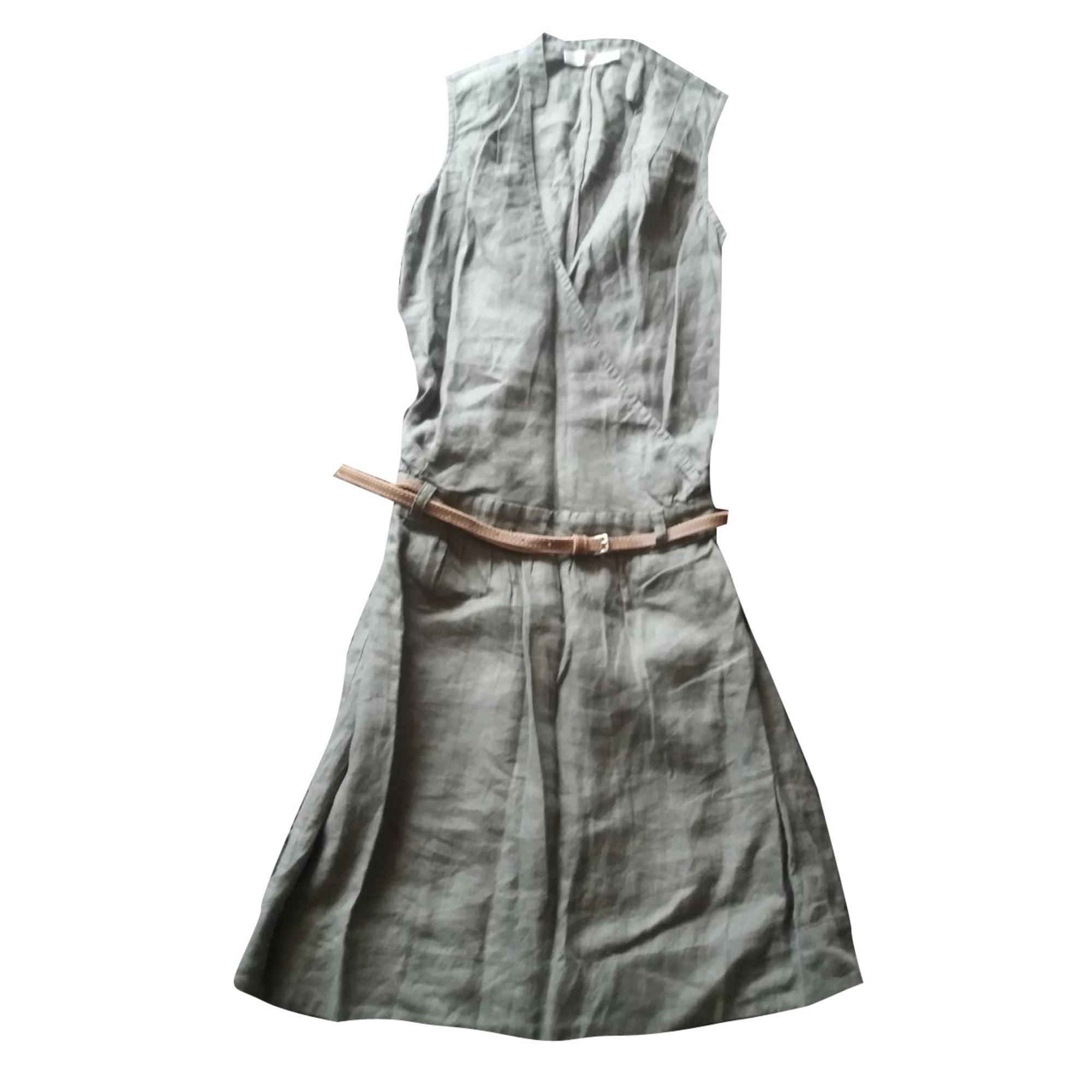Robe mi-longue COMPTOIR DES COTONNIERS Kaki