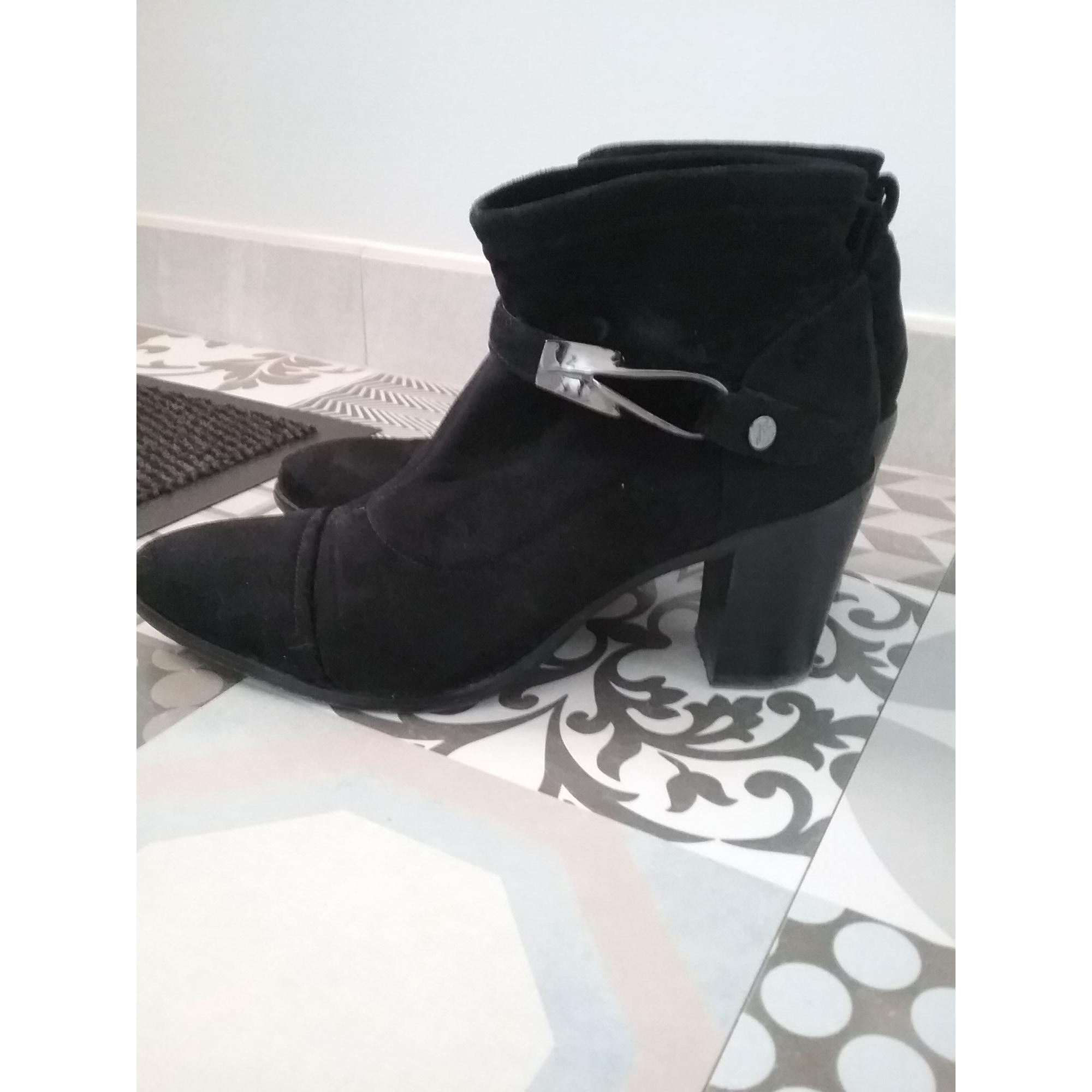 Bottines & low boots à talons JB MARTIN Noir