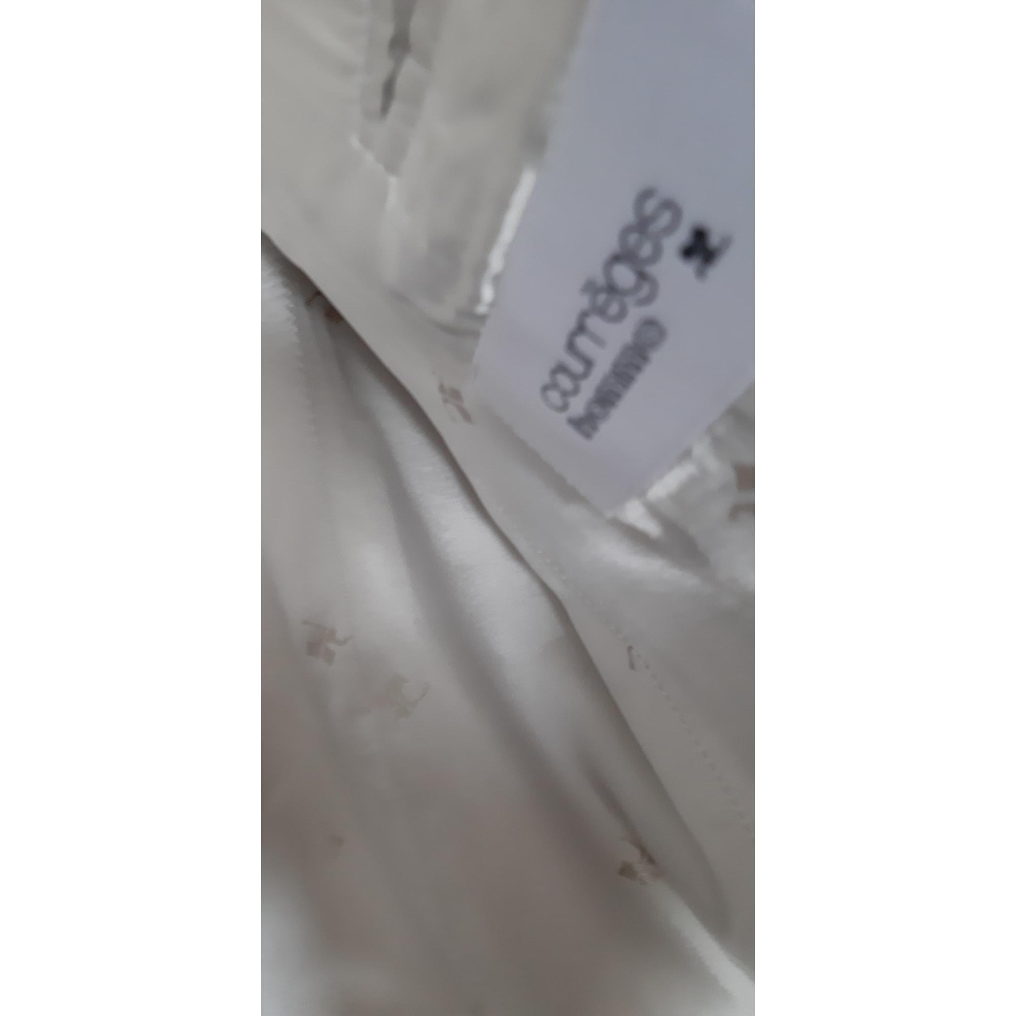 Veste COURRÈGES Blanc, blanc cassé, écru