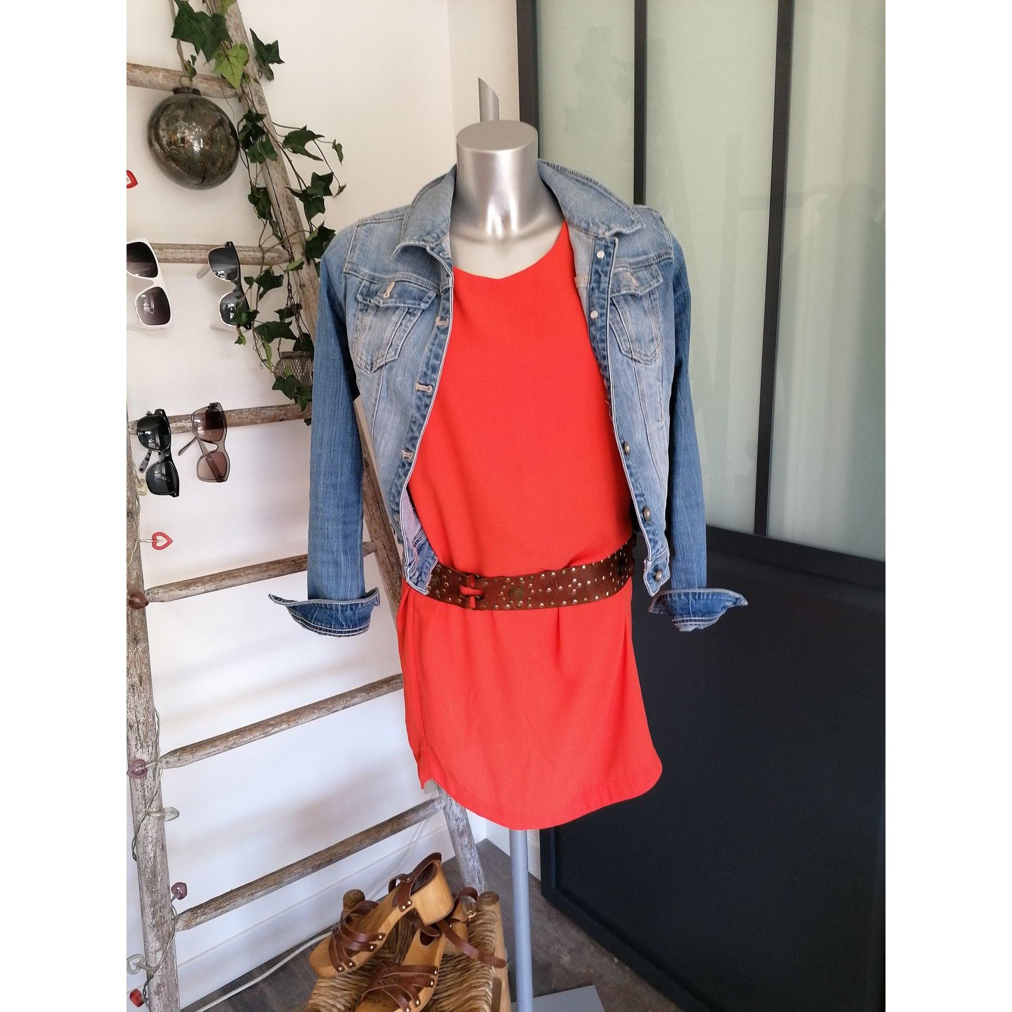 Robe courte H&M Orange