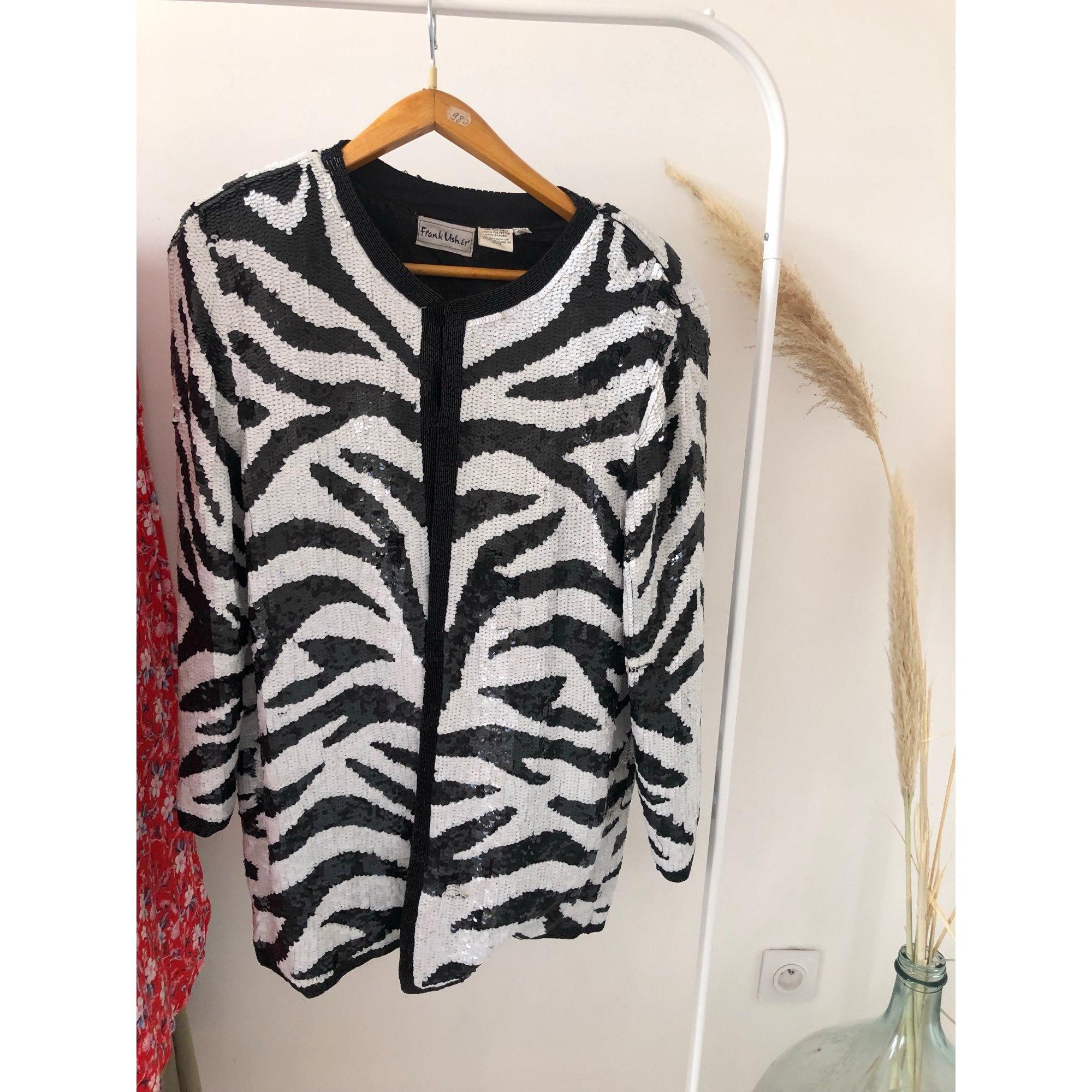 Blazer, veste tailleur FRANCK USHER Imprimés animaliers