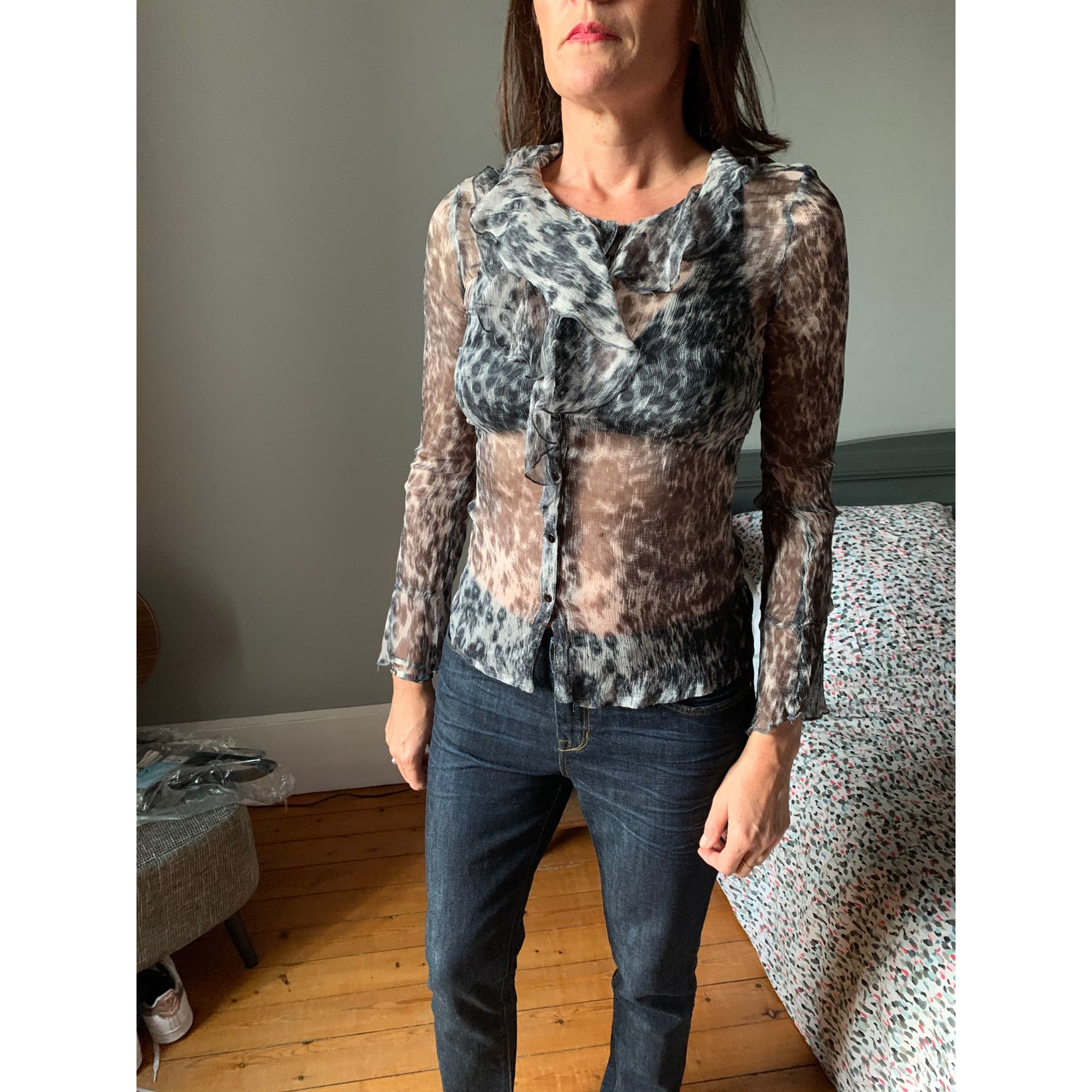 Blouse SINÉQUANONE Gris, anthracite