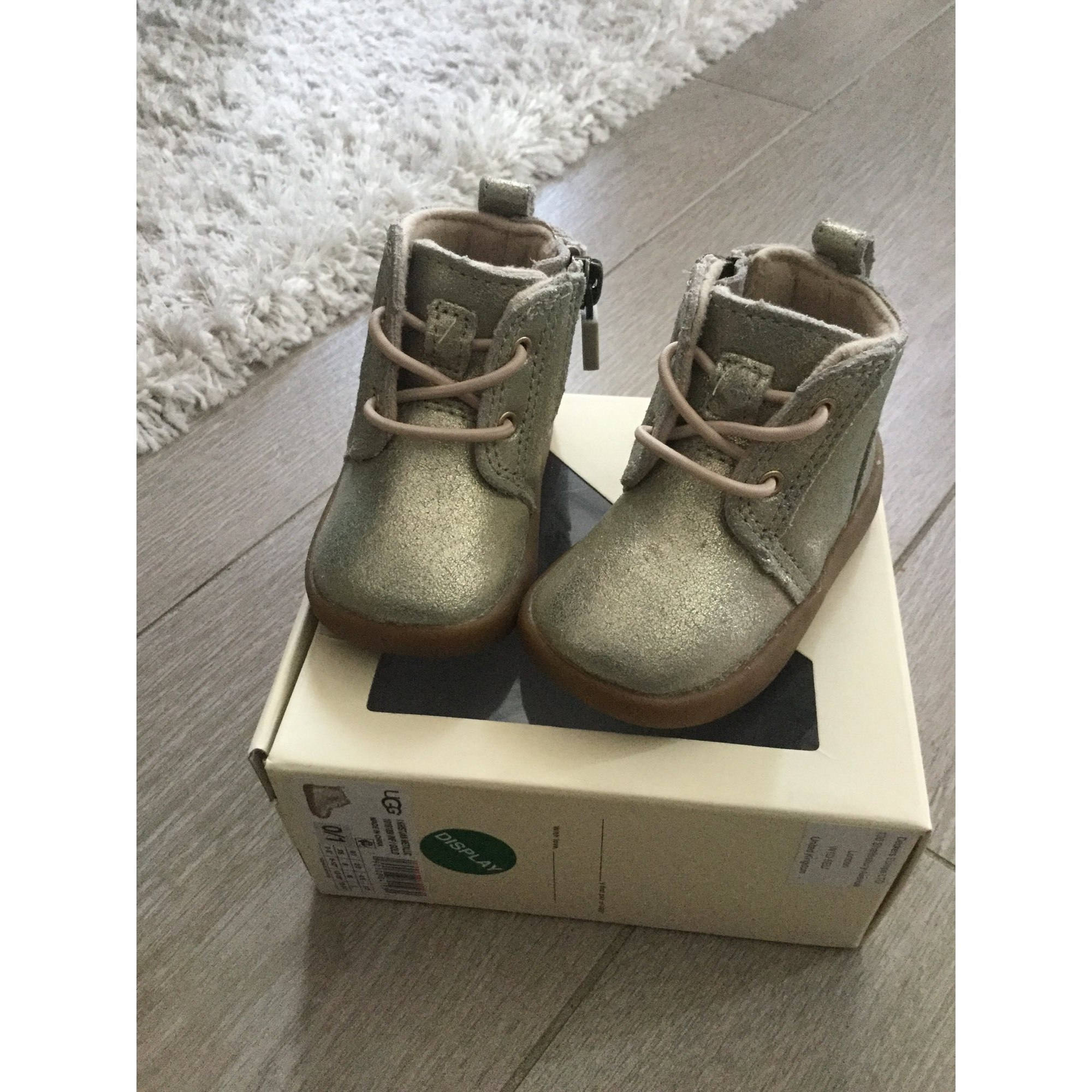 Ankle Boots UGG Silver