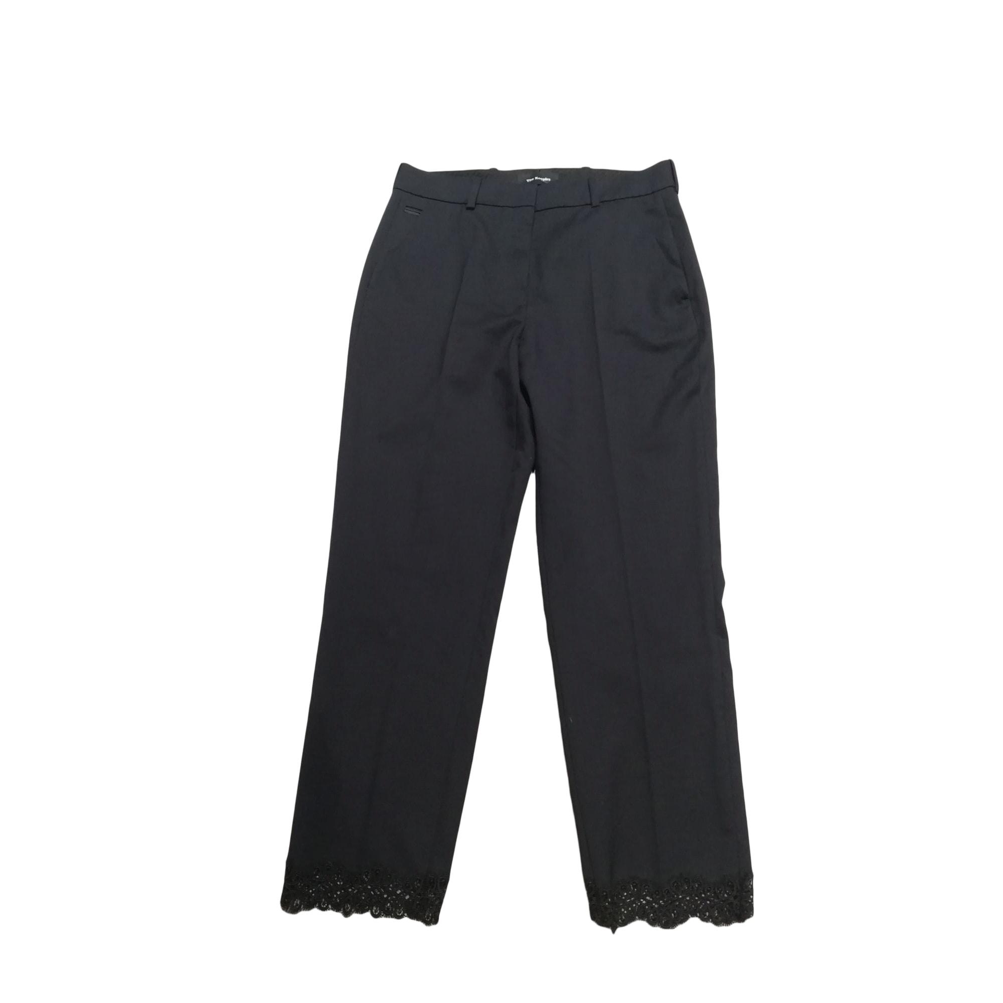 Pantalon large THE KOOPLES Bleu, bleu marine, bleu turquoise