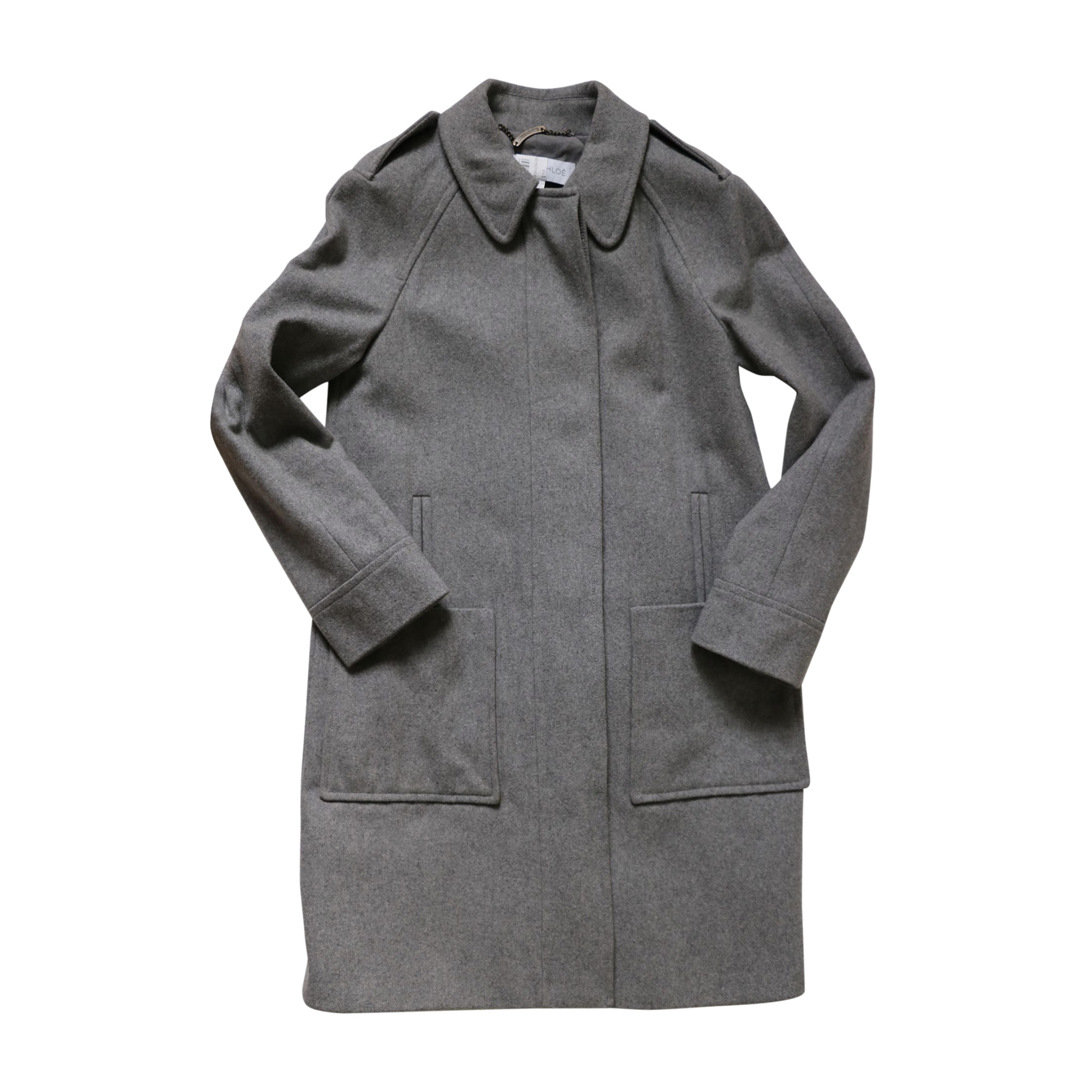 Manteau SEE BY CHLOE Gris, anthracite