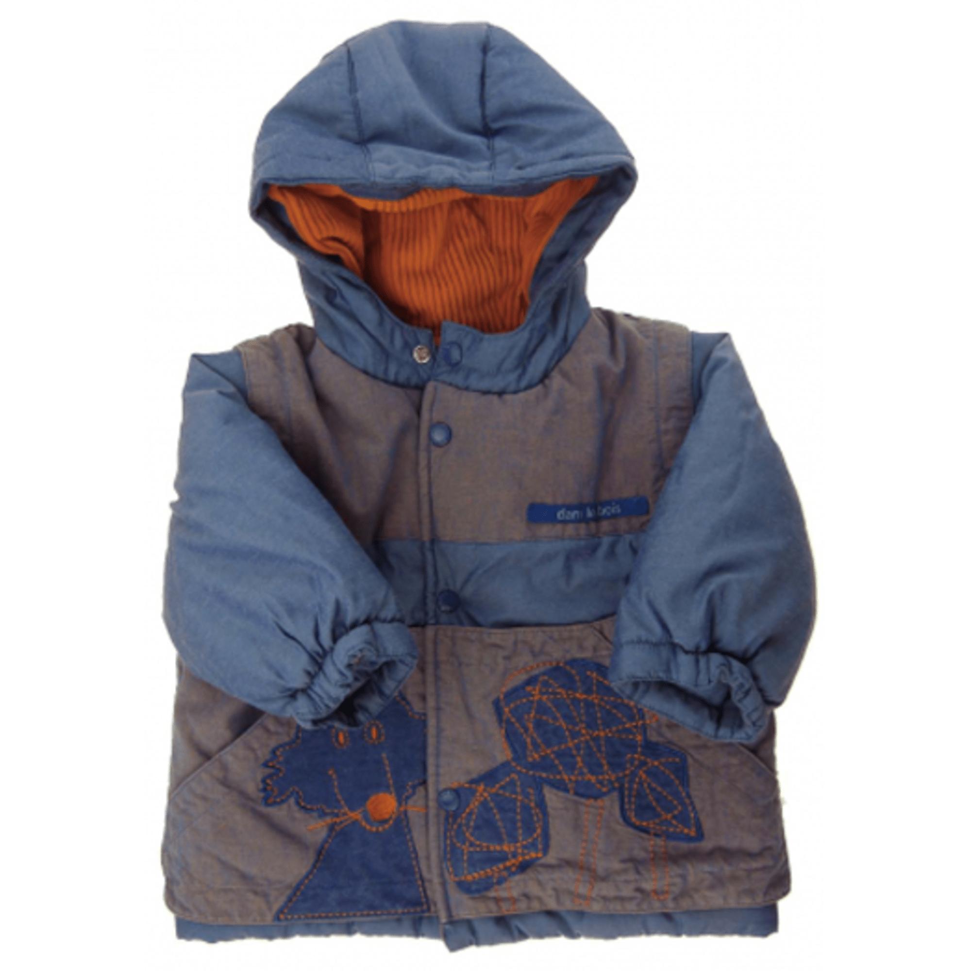 Manteau MARÈSE Bleu, bleu marine, bleu turquoise