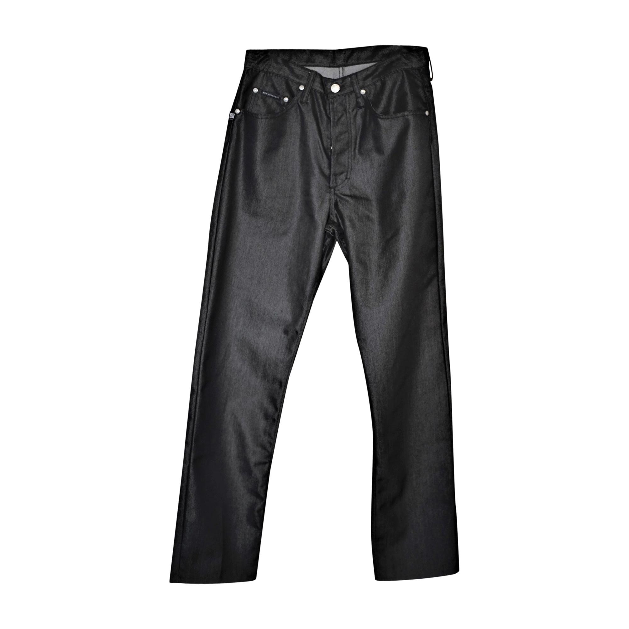 Pantalon droit GIVENCHY Noir