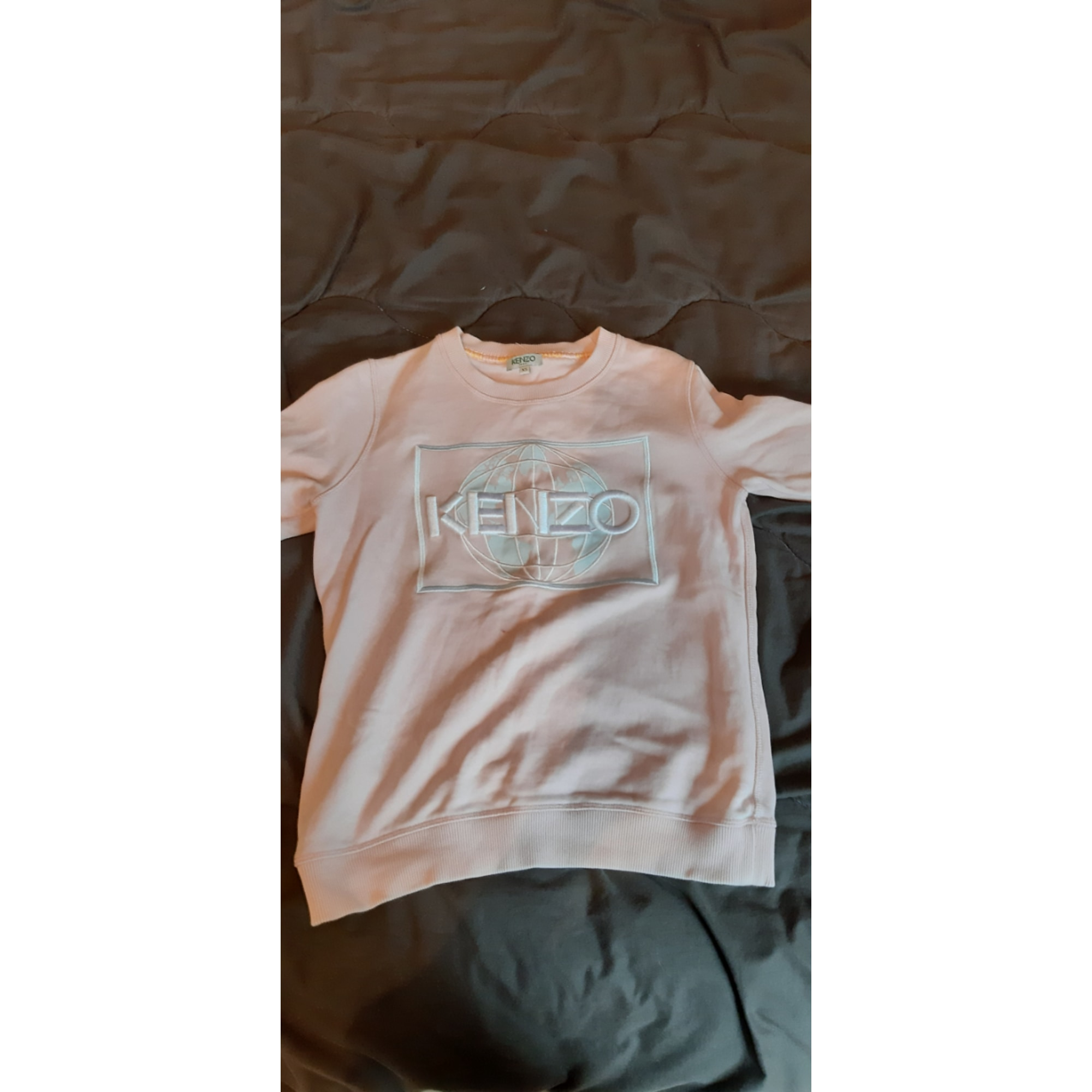 Sweat KENZO Rose, fuschia, vieux rose