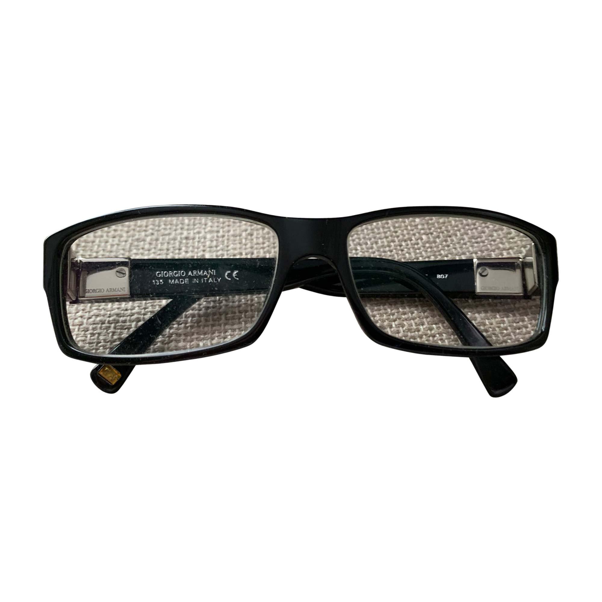 Eyeglass Frames GIORGIO ARMANI Black