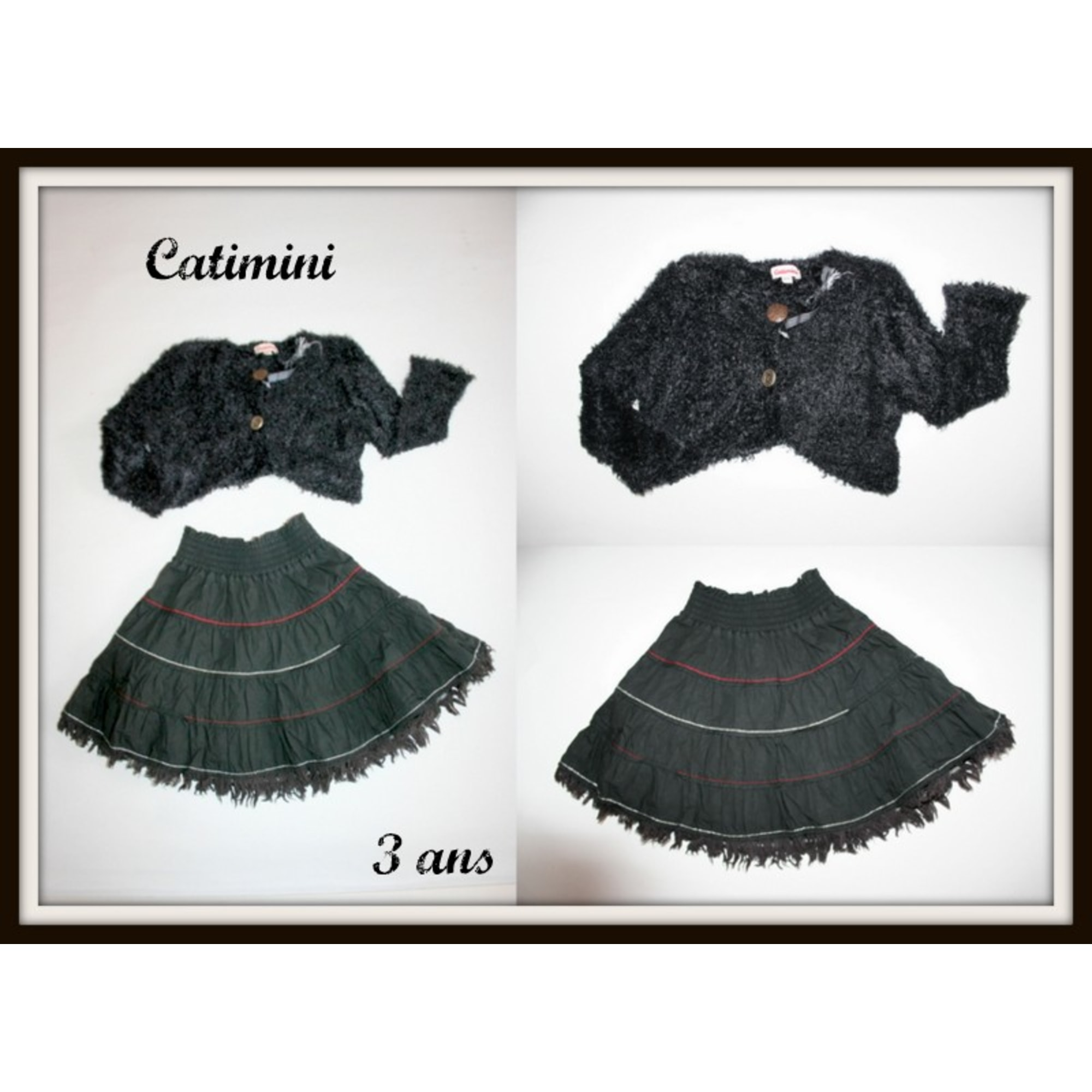 Ensemble & Combinaison pantalon CATIMINI Noir