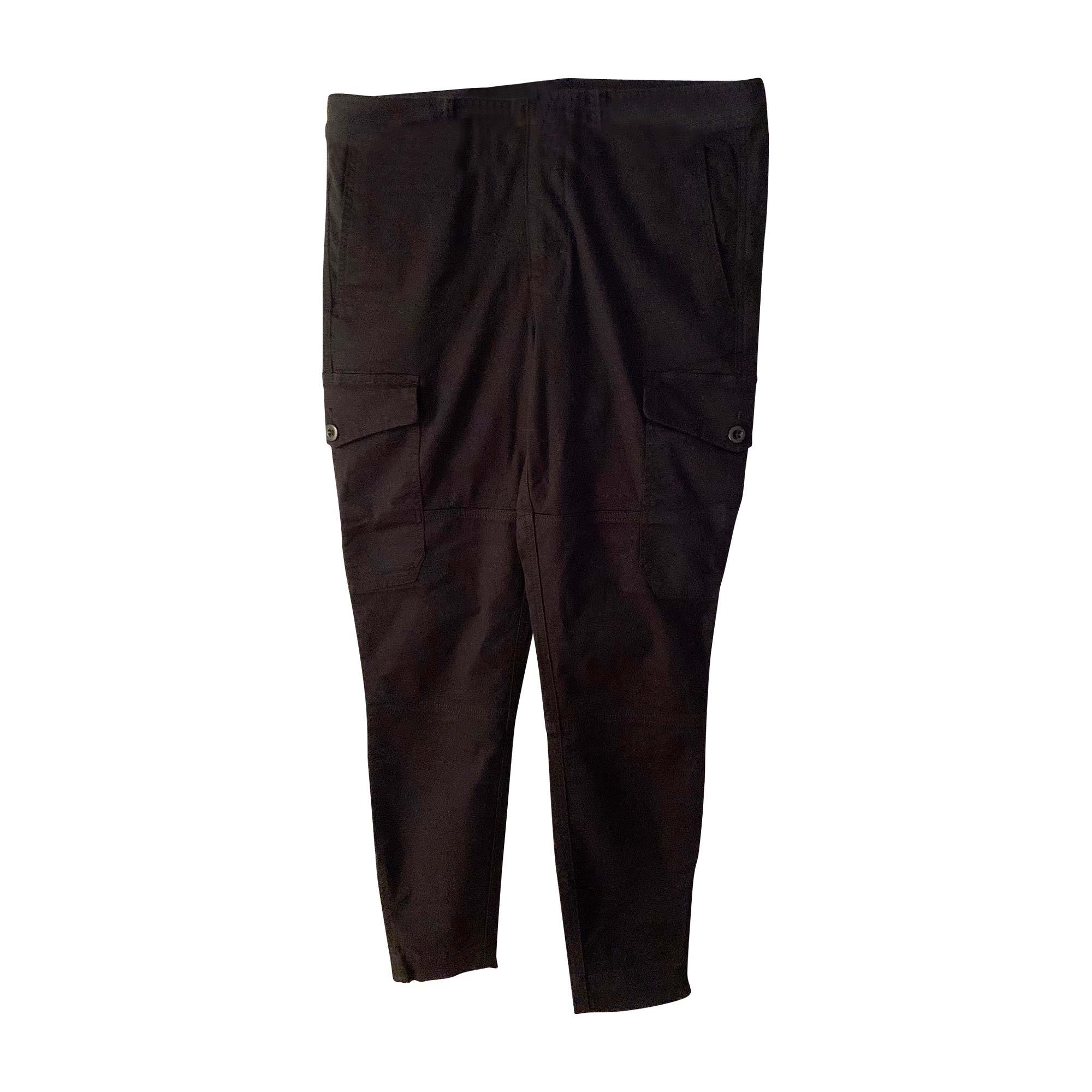 Pantalon slim, cigarette RALPH LAUREN Noir