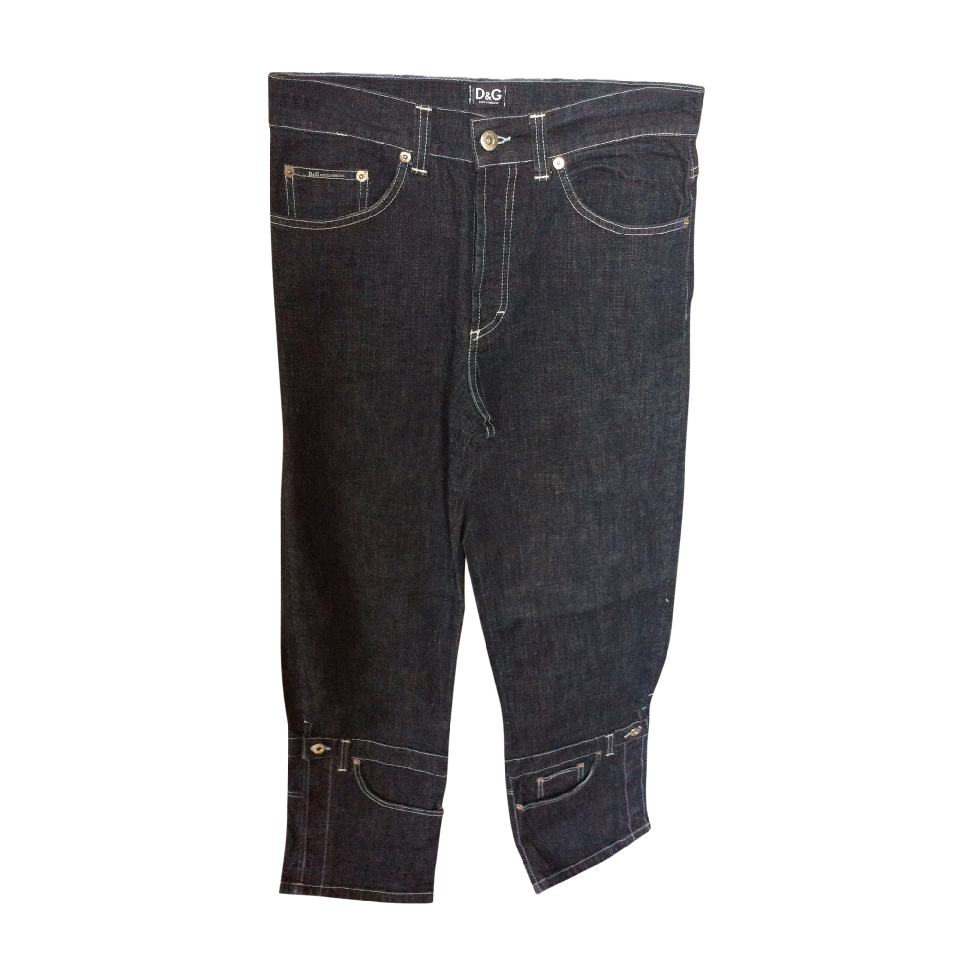 Boot-cut Jeans, Flares DOLCE & GABBANA Blue, navy, turquoise